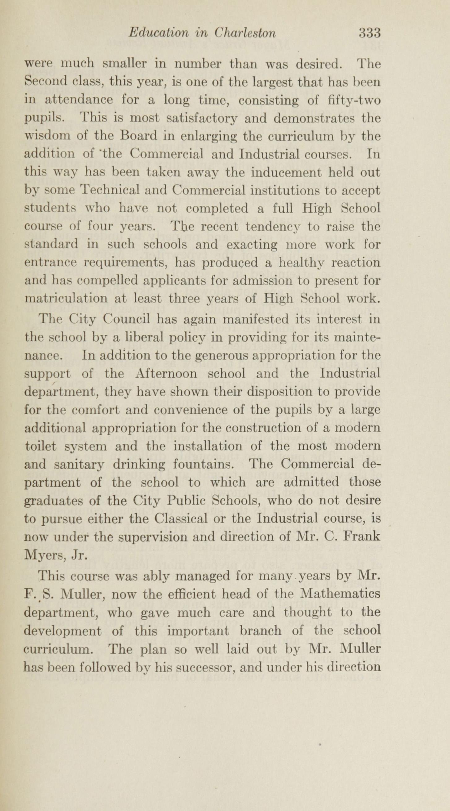 Charleston Yearbook, 1915, page 333