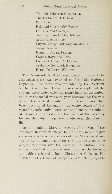 Charleston Yearbook, 1915, page 336