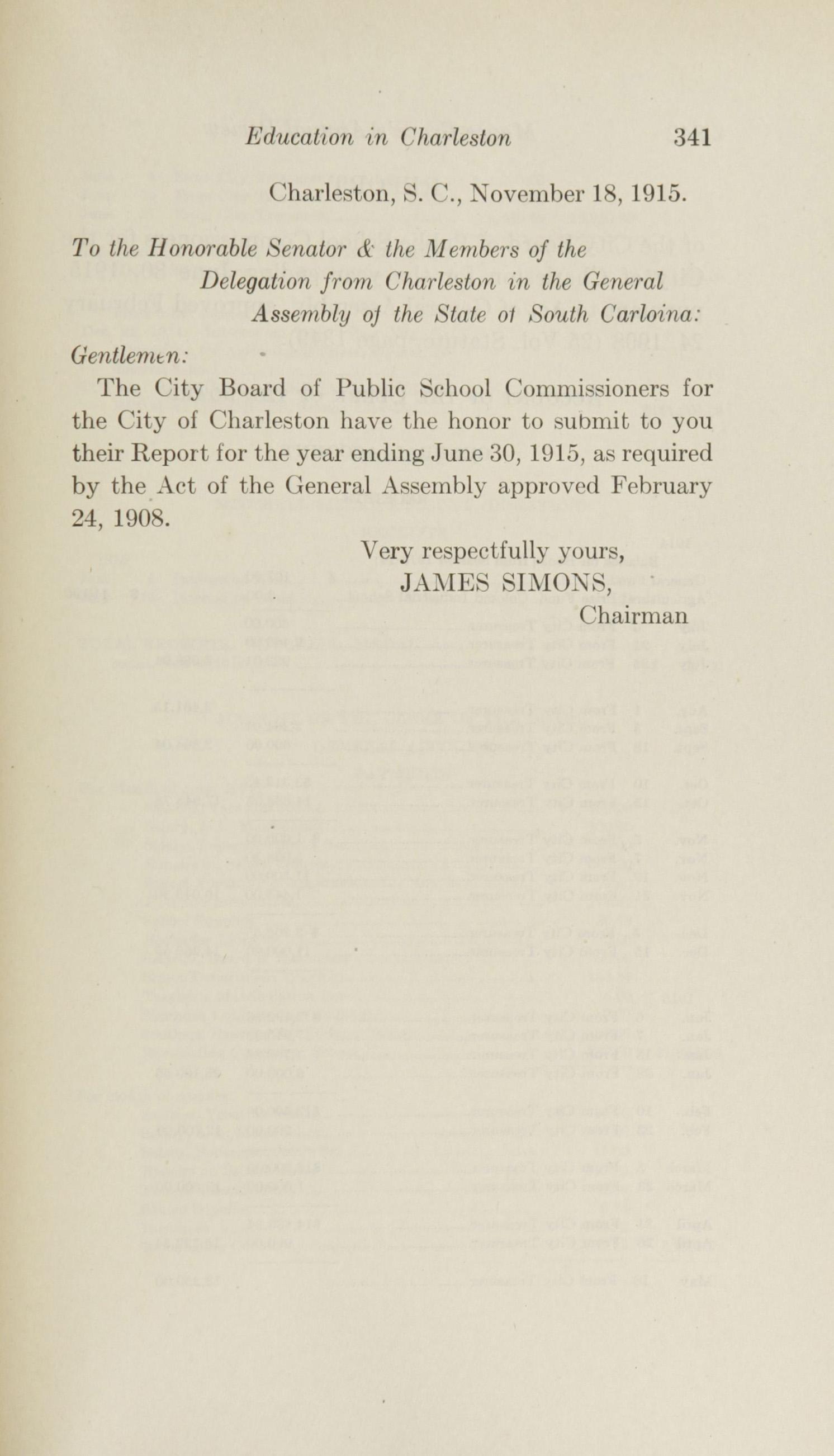 Charleston Yearbook, 1915, page 341