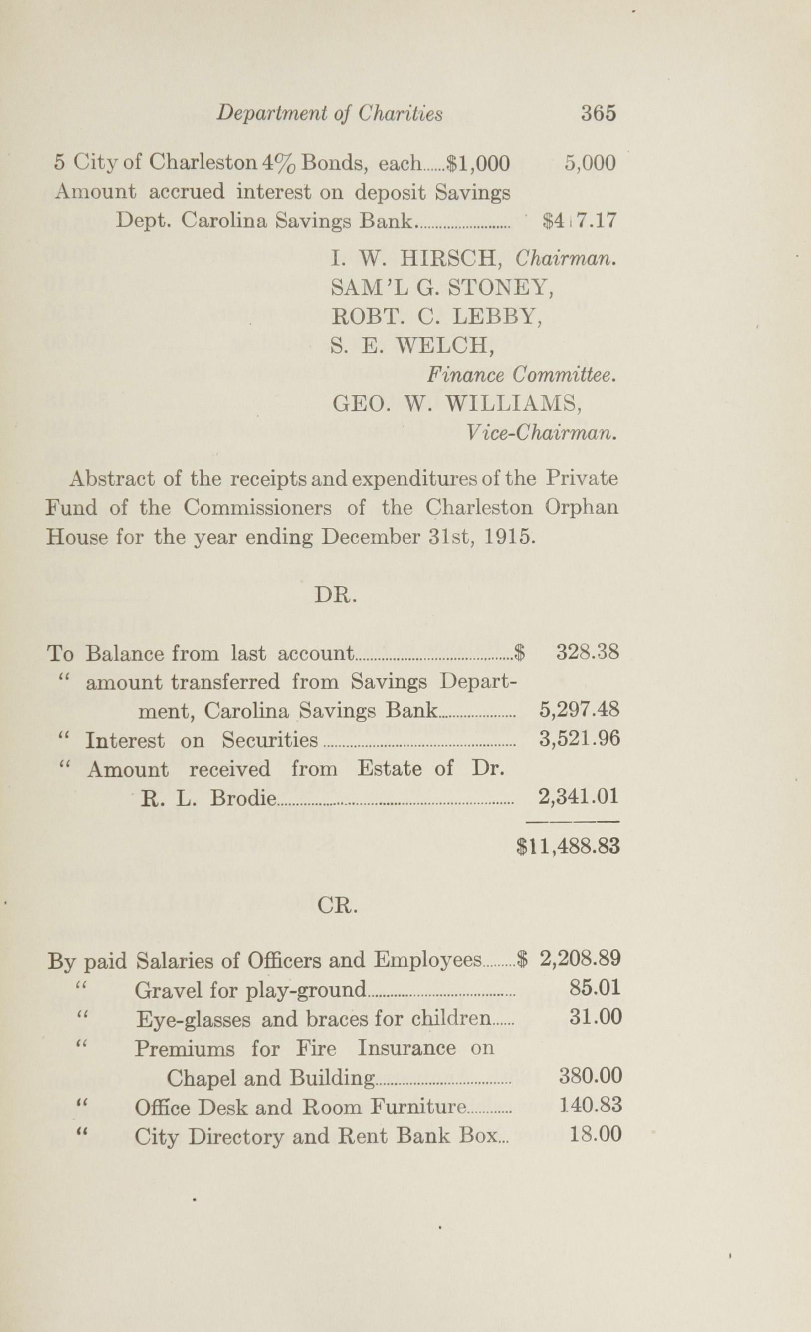 Charleston Yearbook, 1915, page 365