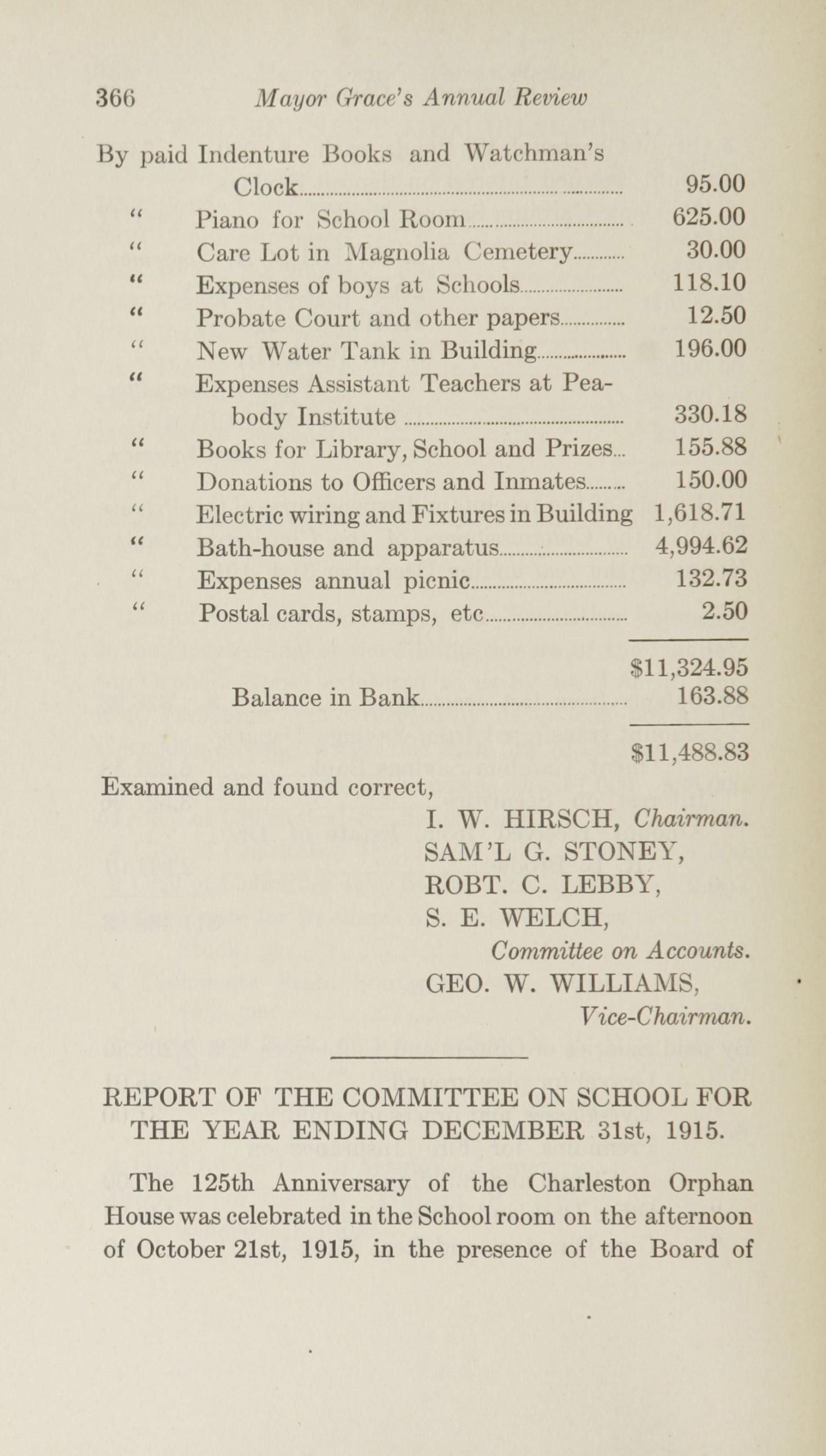 Charleston Yearbook, 1915, page 366