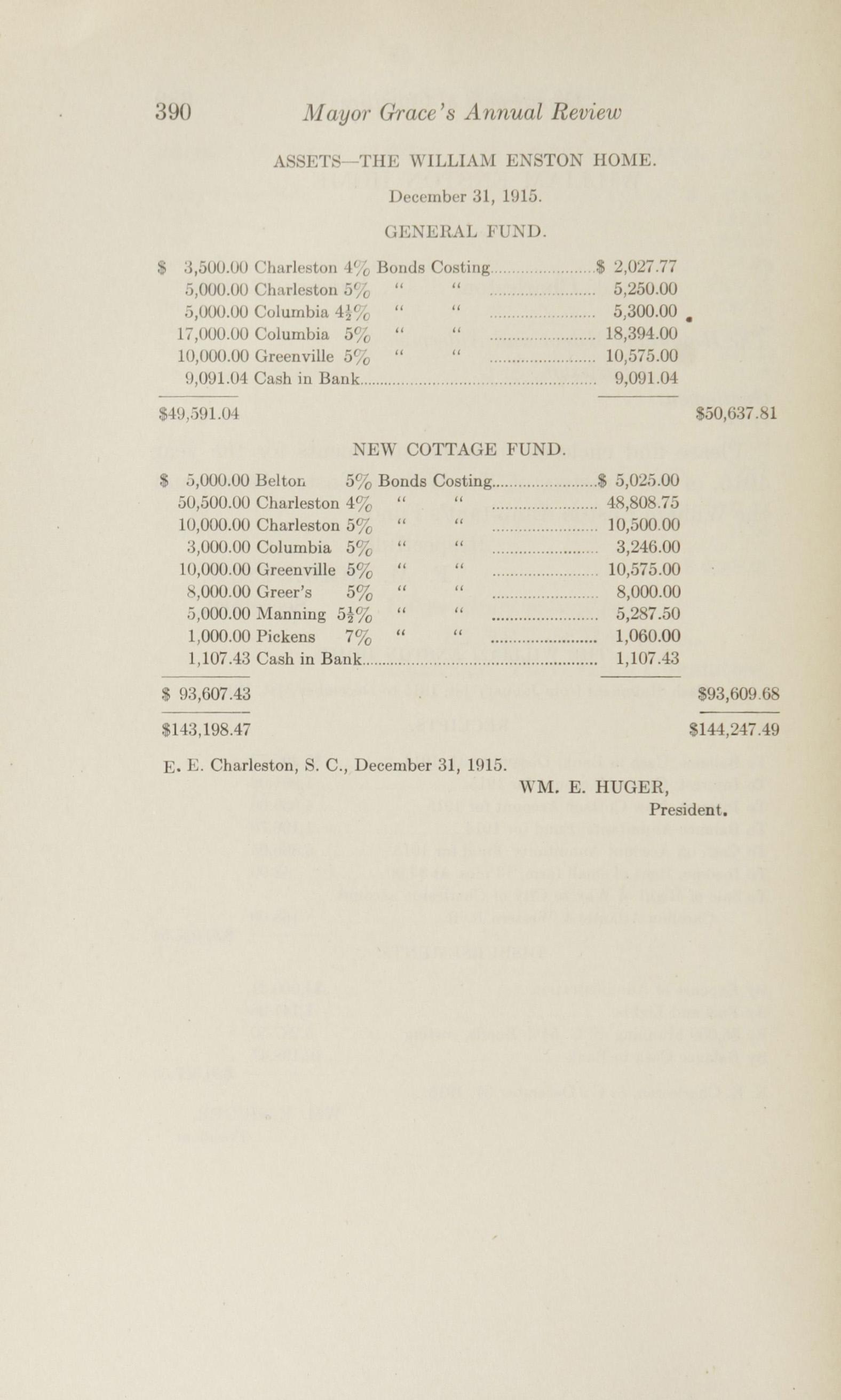 Charleston Yearbook, 1915, page 390