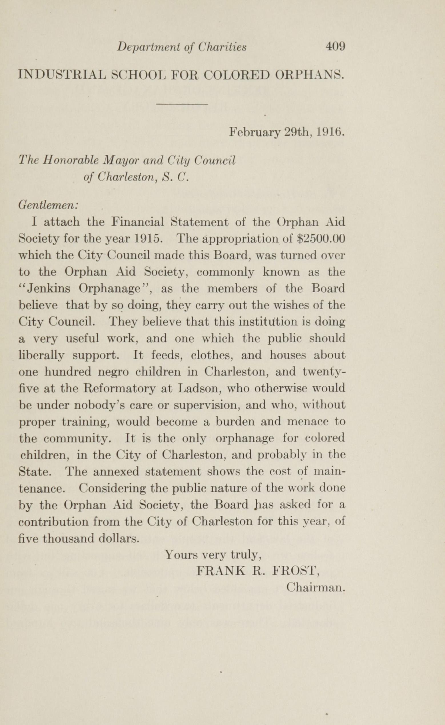 Charleston Yearbook, 1915, page 409