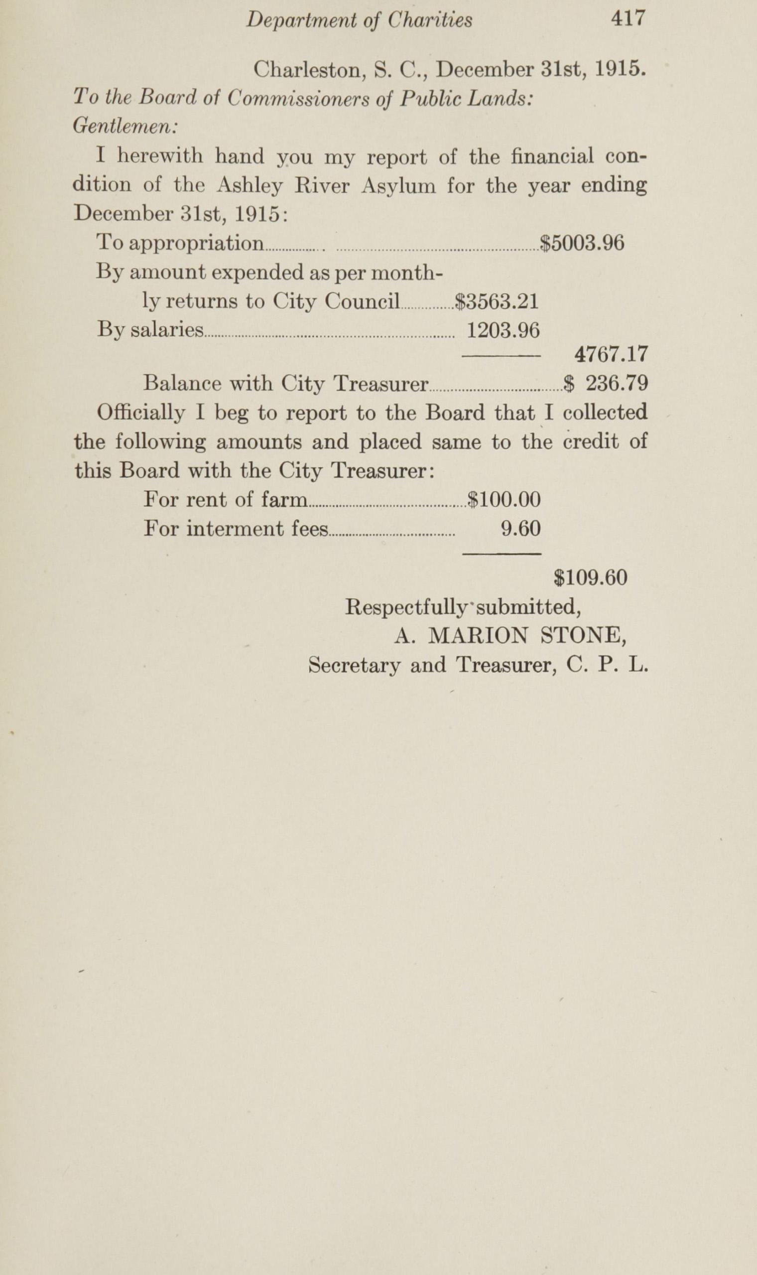 Charleston Yearbook, 1915, page 417