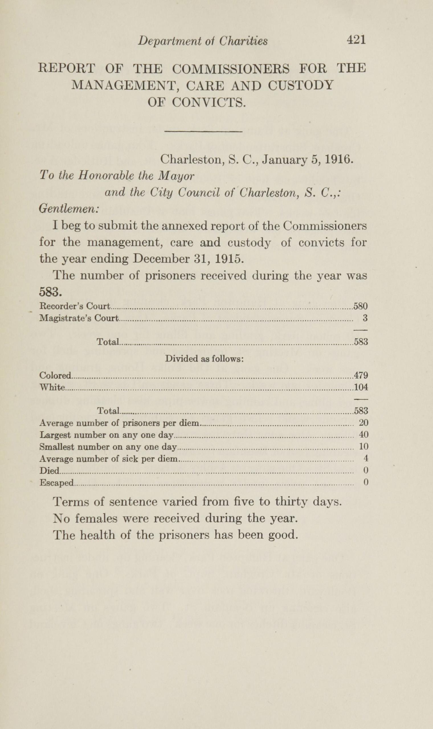 Charleston Yearbook, 1915, page 421