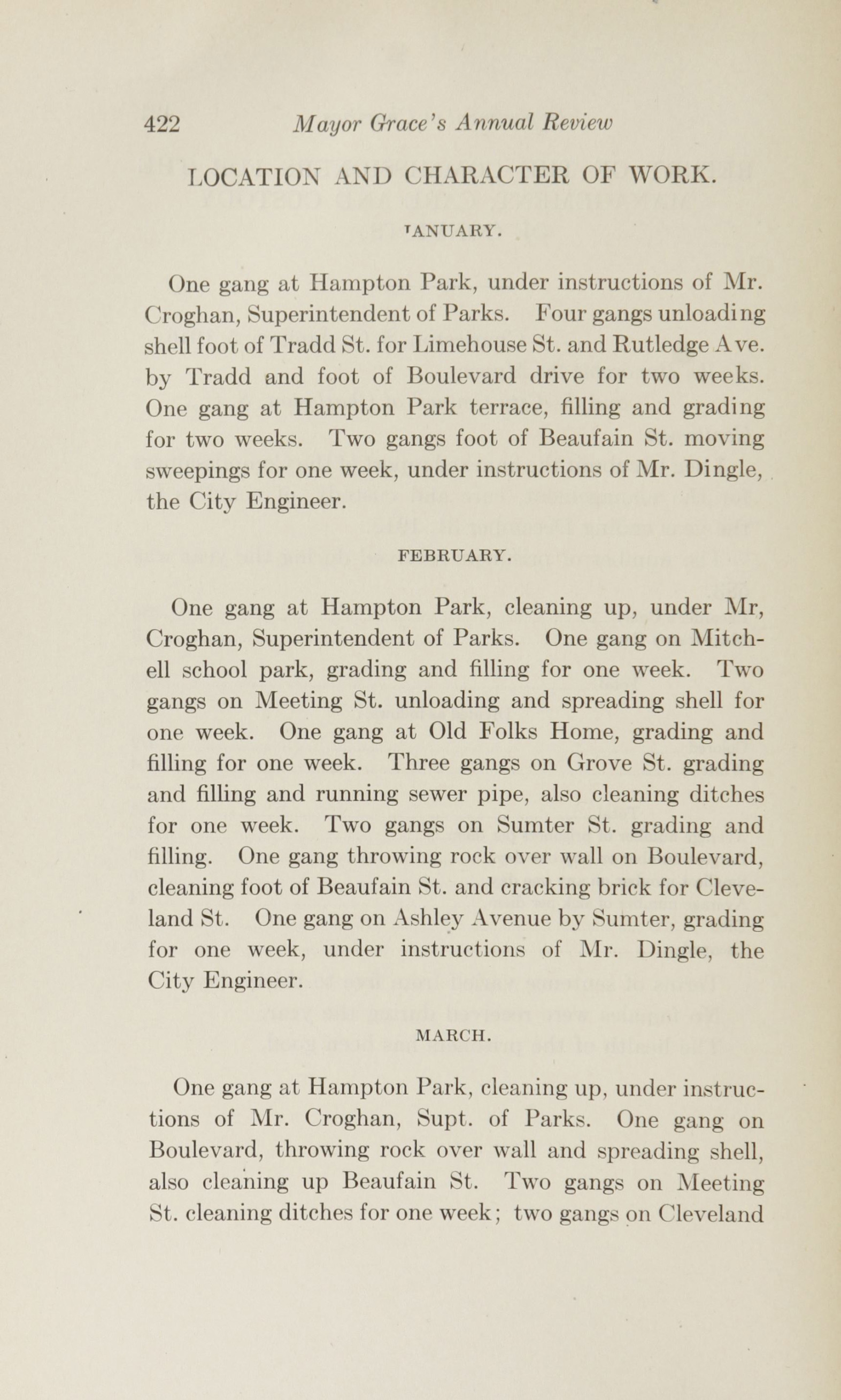Charleston Yearbook, 1915, page 422