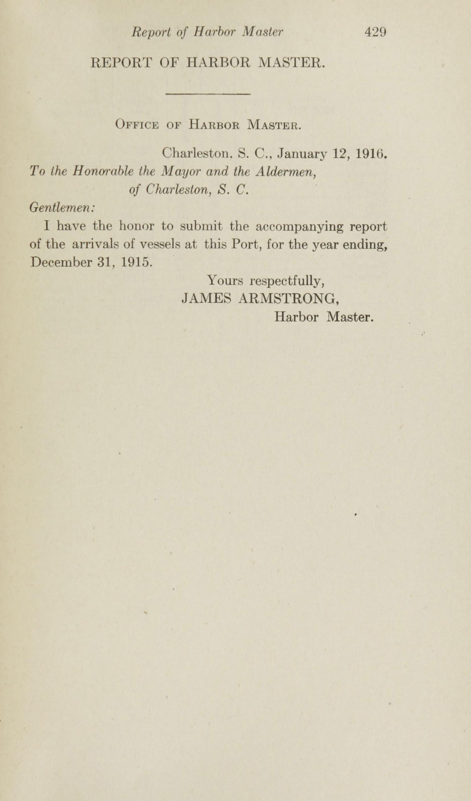 Charleston Yearbook, 1915, page 429