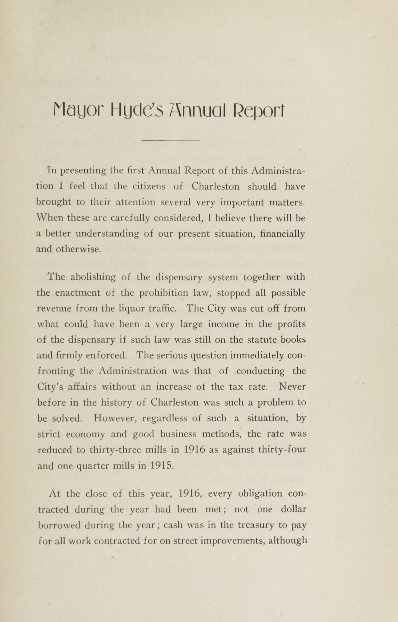 Charleston Yearbook, 1916, page xvii