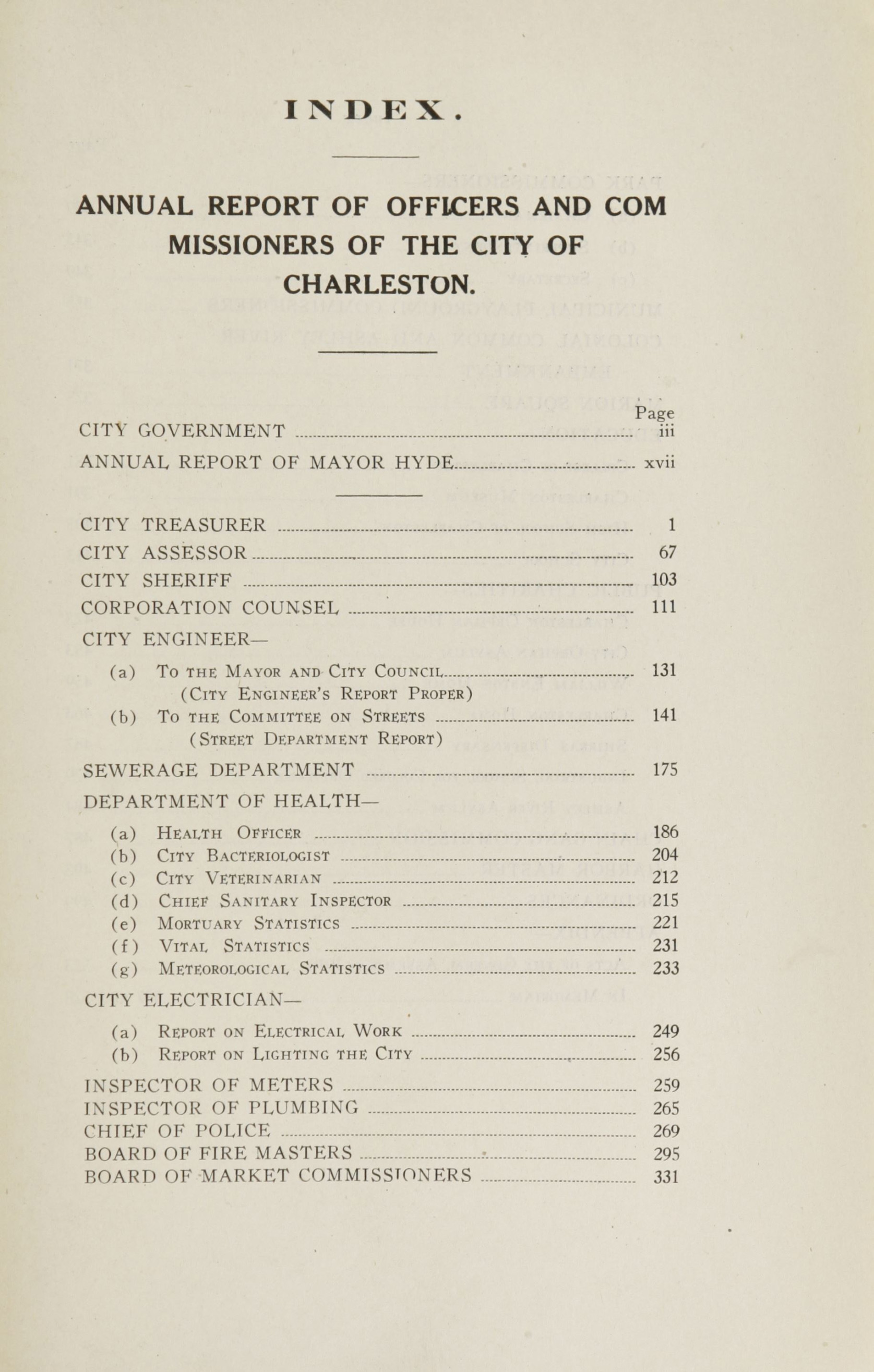 Charleston Yearbook, 1916, page xxv