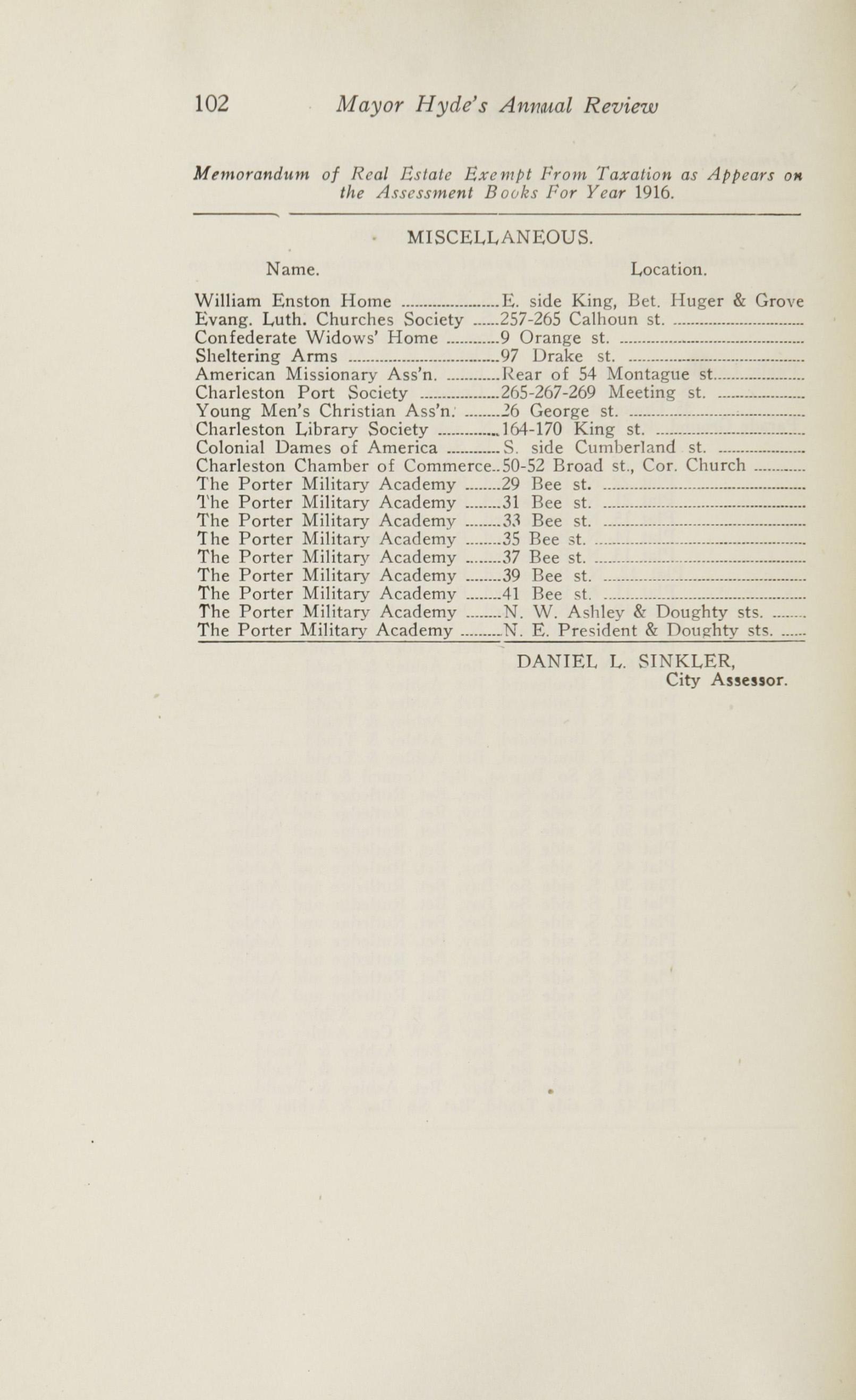 Charleston Yearbook, 1916, page 102