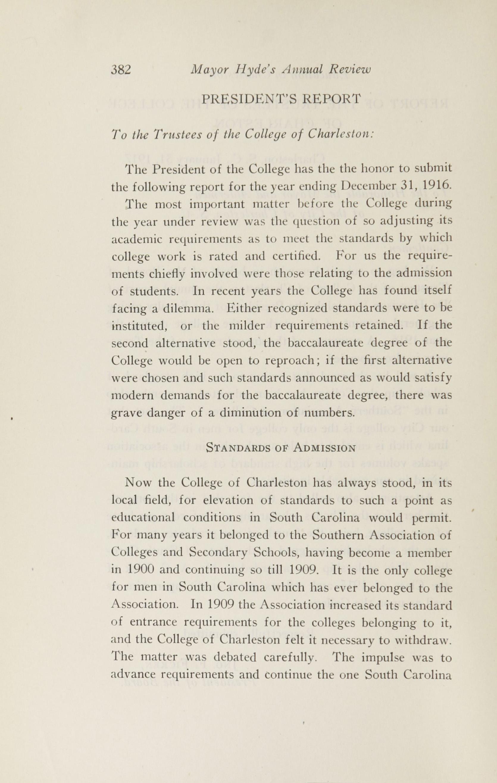 Charleston Yearbook, 1916, page 382