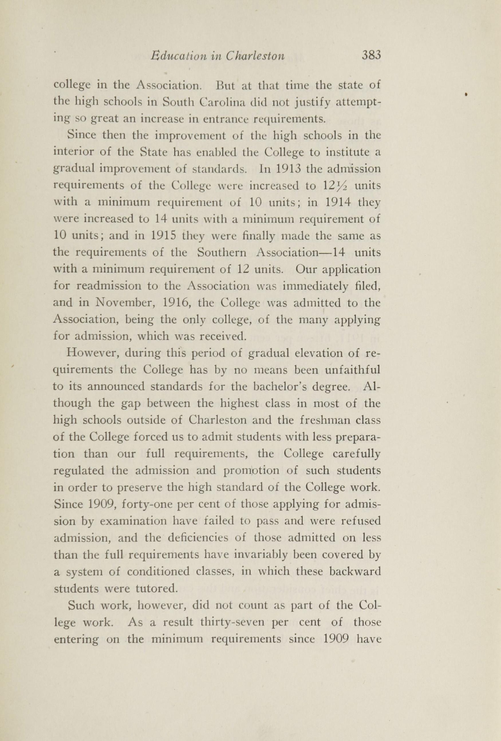 Charleston Yearbook, 1916, page 383