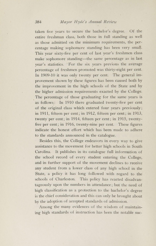 Charleston Yearbook, 1916, page 384