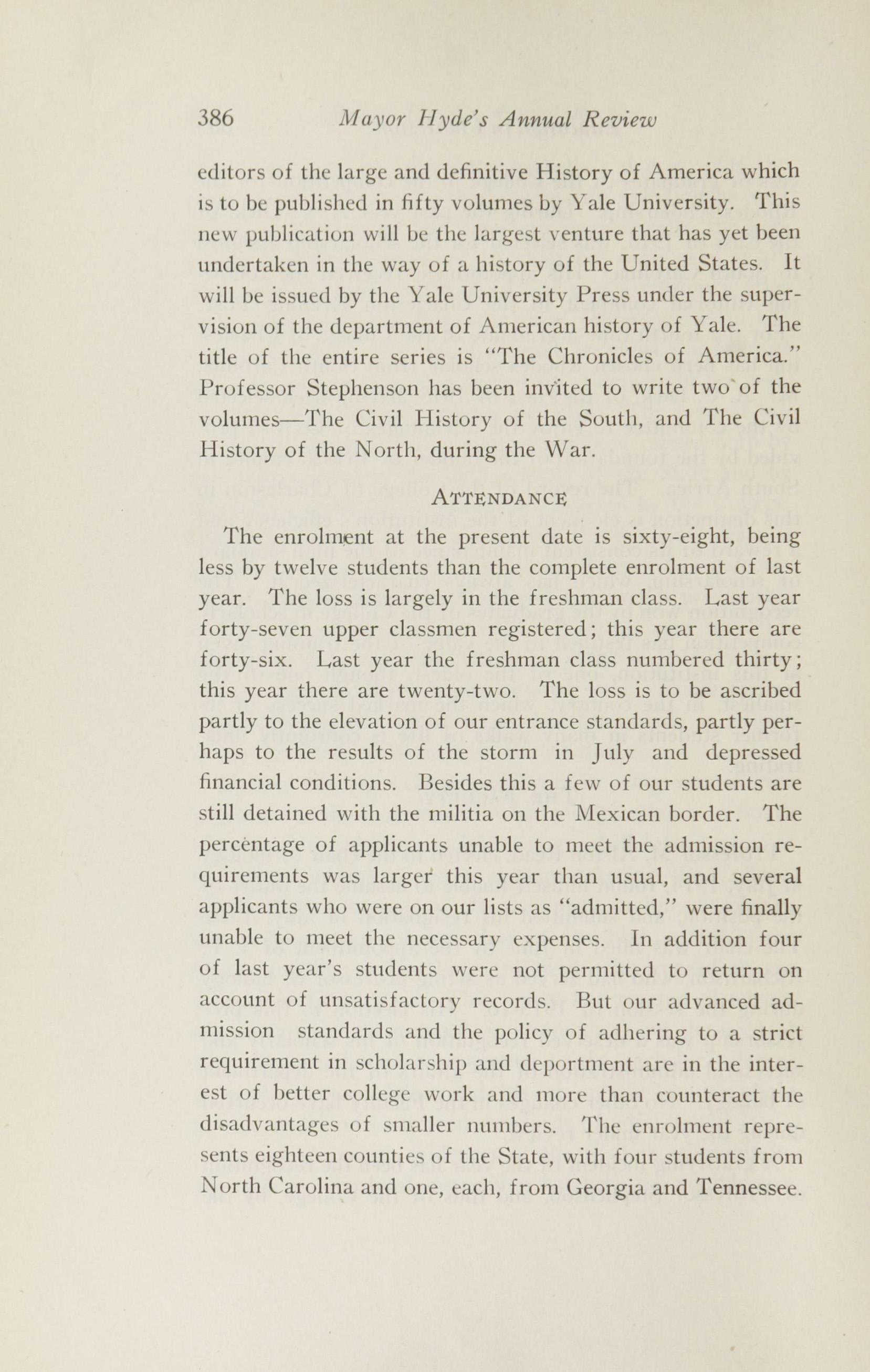 Charleston Yearbook, 1916, page 386