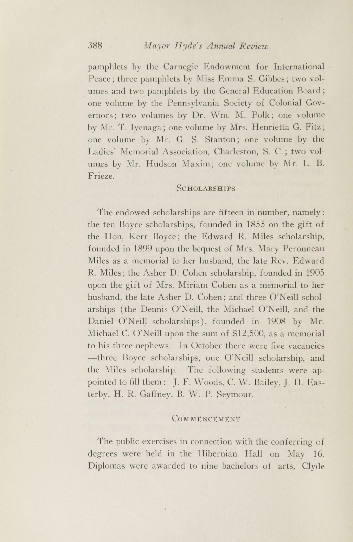 Charleston Yearbook, 1916, page 388
