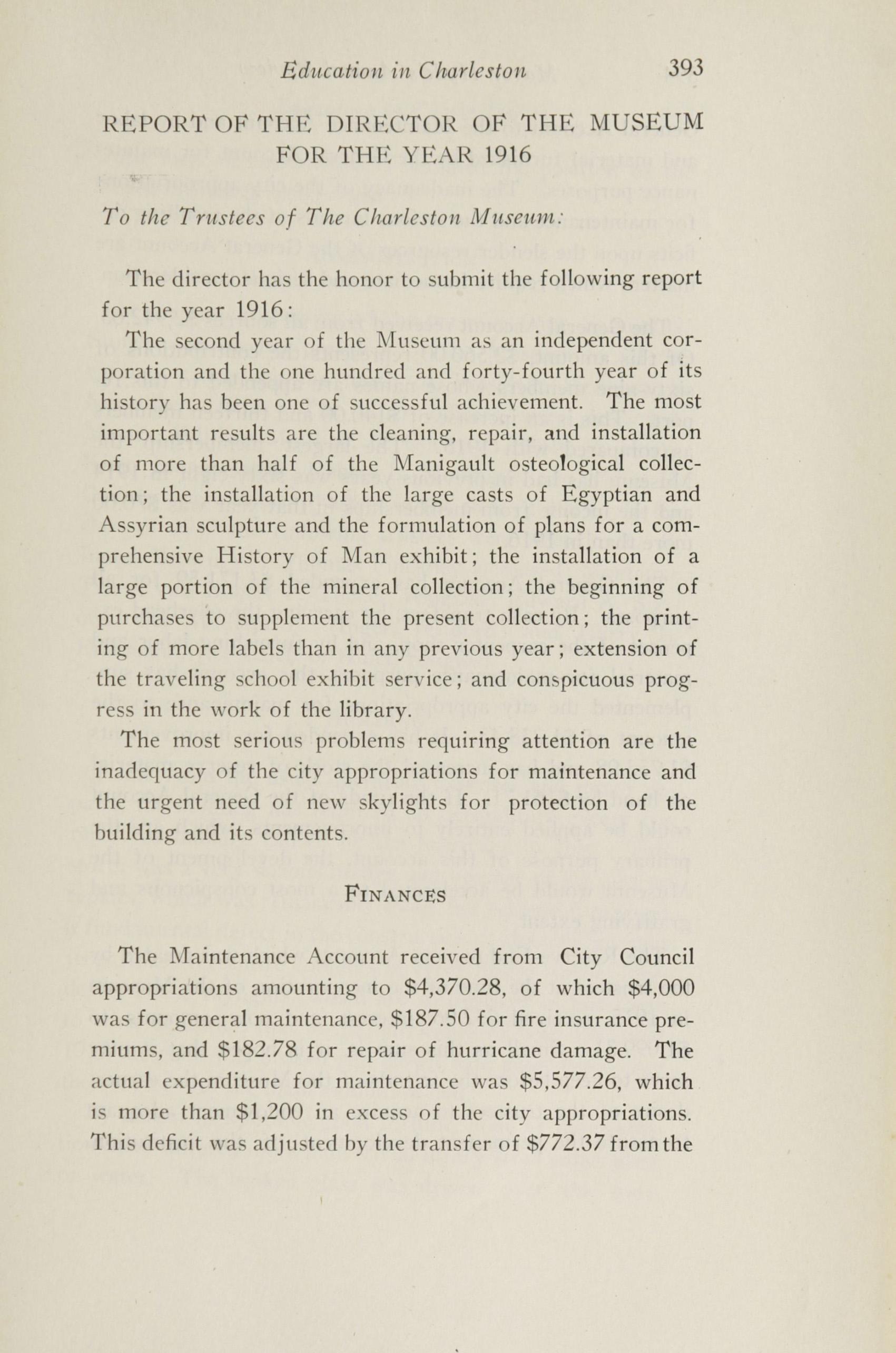 Charleston Yearbook, 1916, page 393