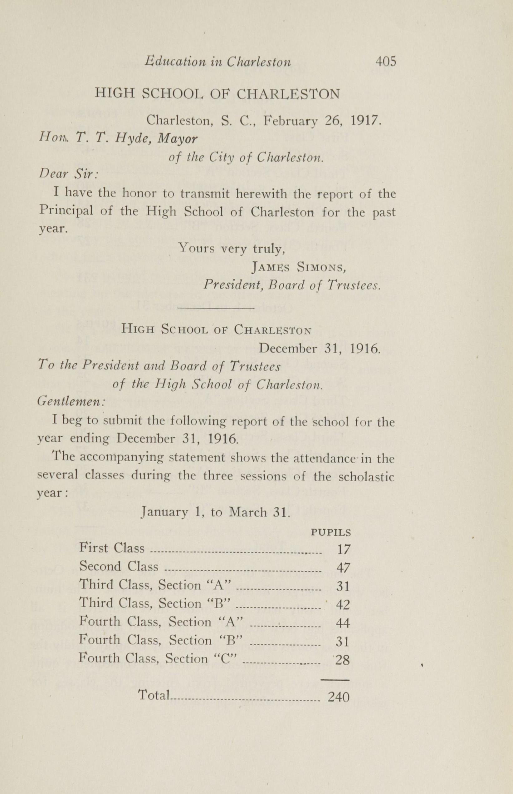 Charleston Yearbook, 1916, page 405