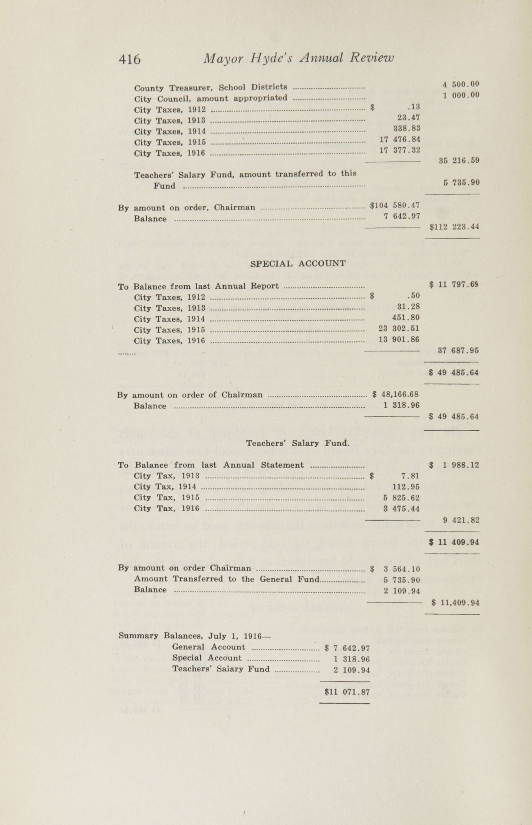 Charleston Yearbook, 1916, page 416