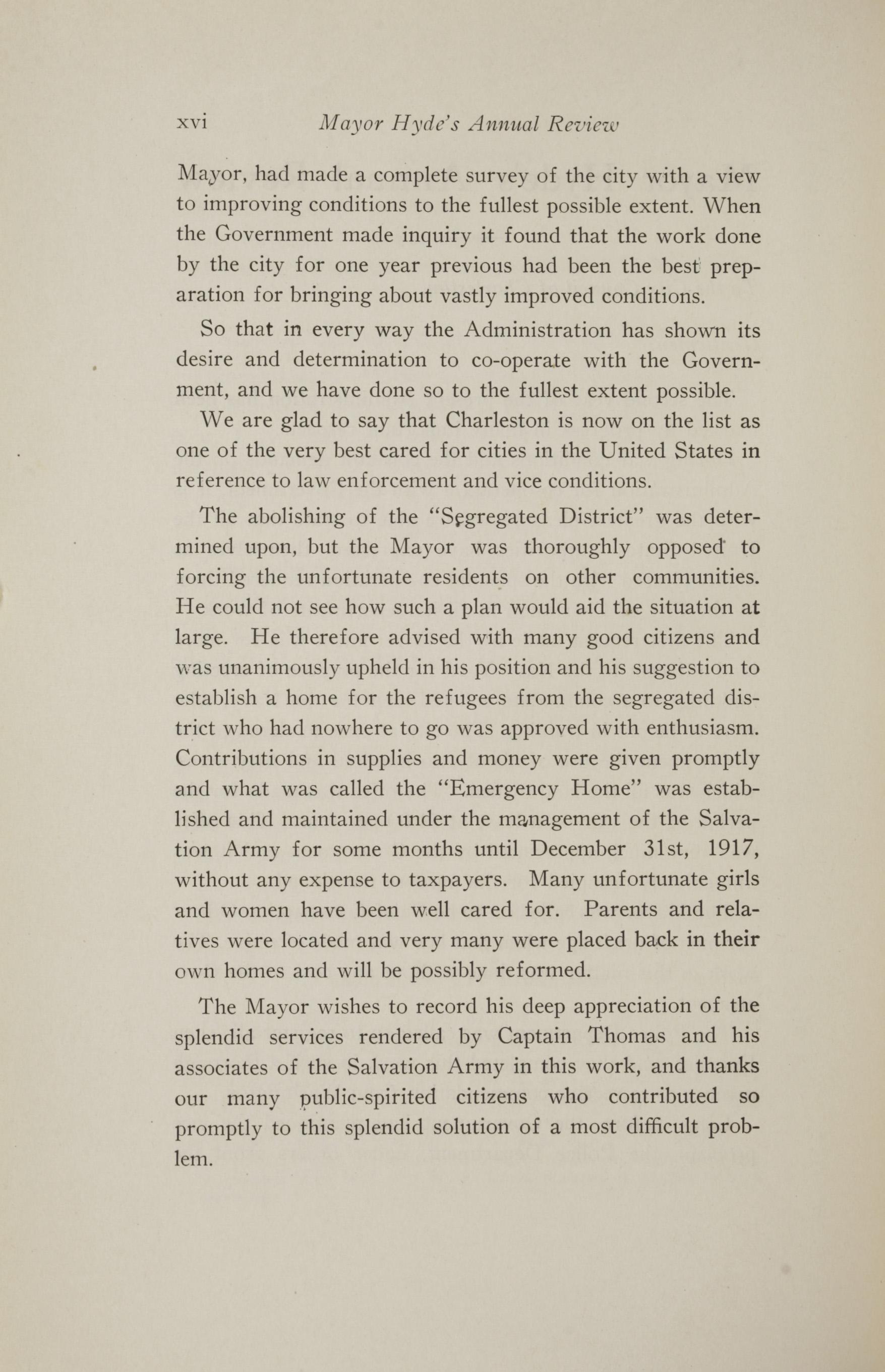Charleston Yearbook, 1917, page xvi