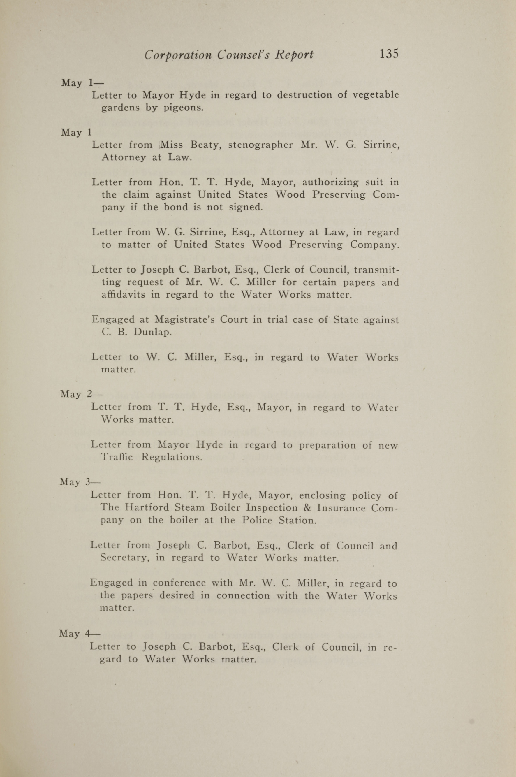 Charleston Yearbook, 1917, page 135