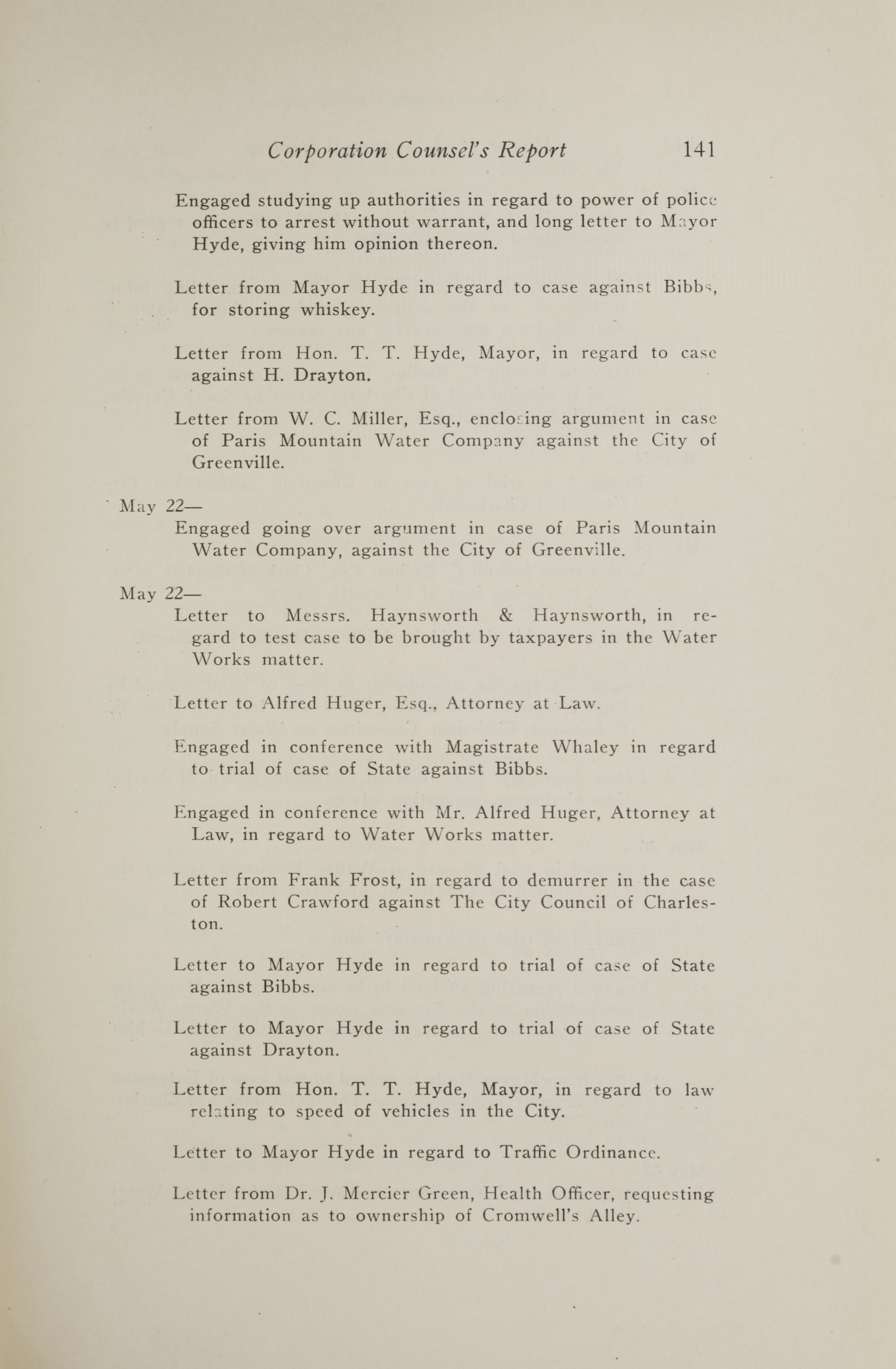 Charleston Yearbook, 1917, page 141