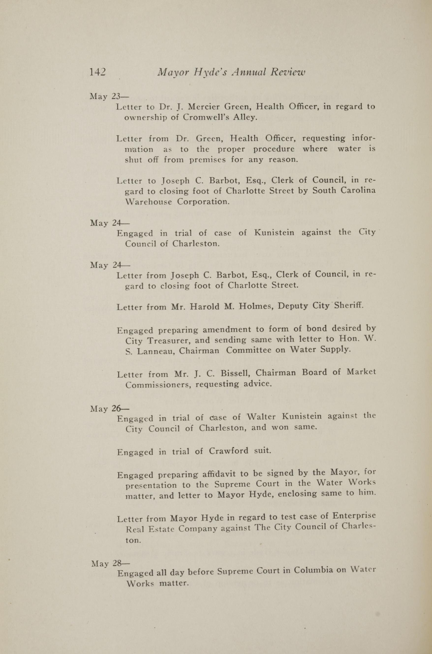 Charleston Yearbook, 1917, page 142