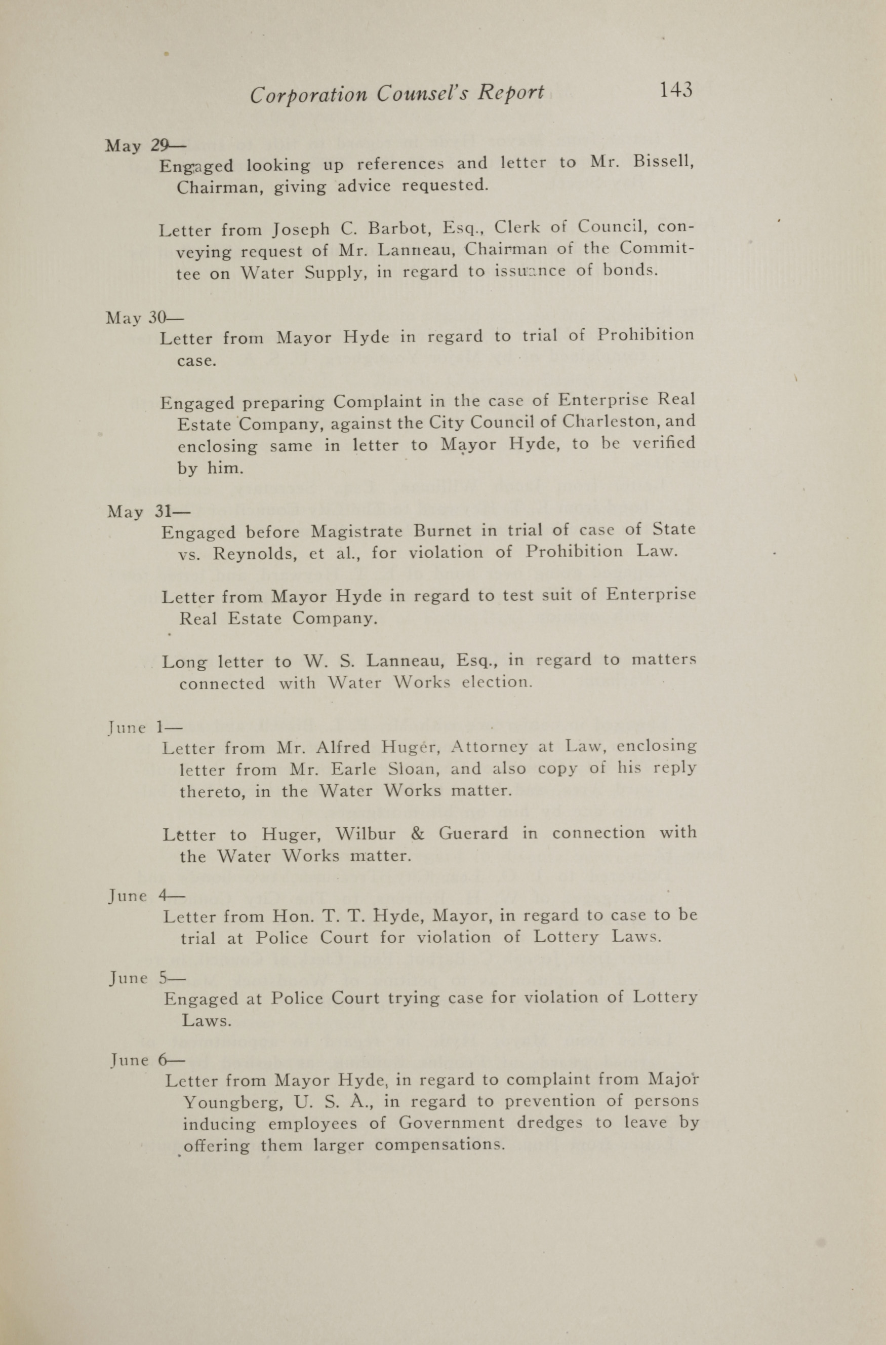 Charleston Yearbook, 1917, page 143