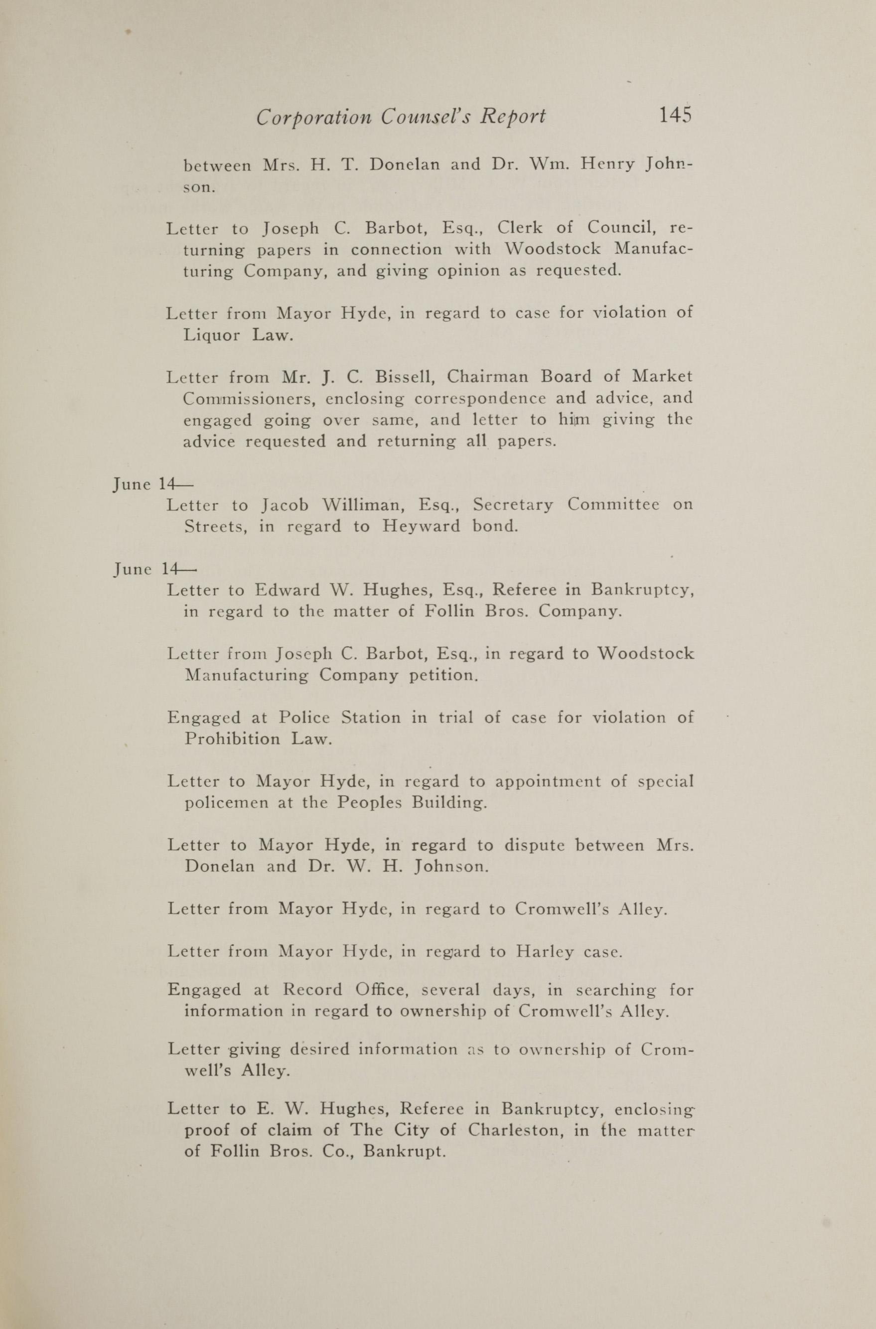 Charleston Yearbook, 1917, page 145