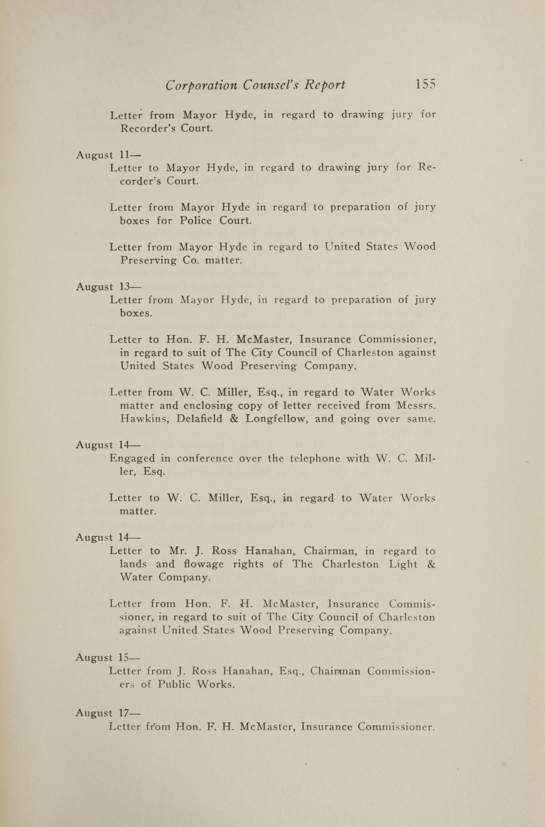 Charleston Yearbook, 1917, page 155