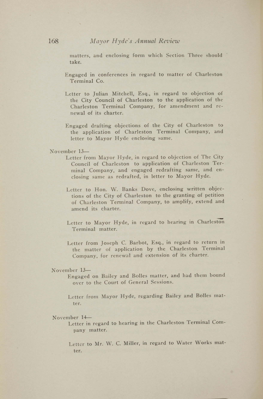 Charleston Yearbook, 1917, page 168