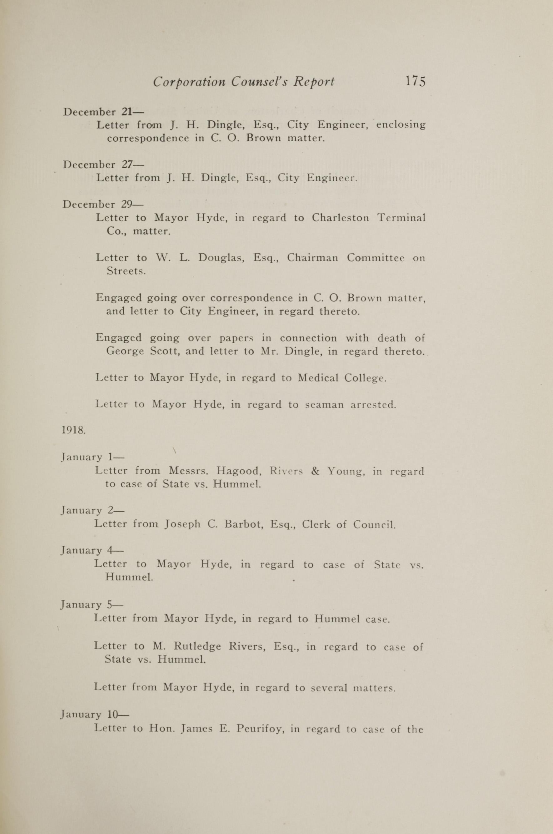 Charleston Yearbook, 1917, page 175