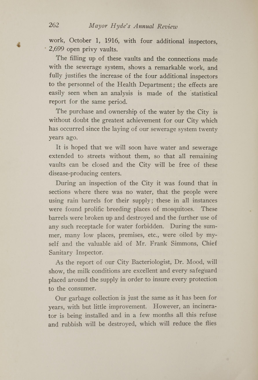Charleston Yearbook, 1917, page 262