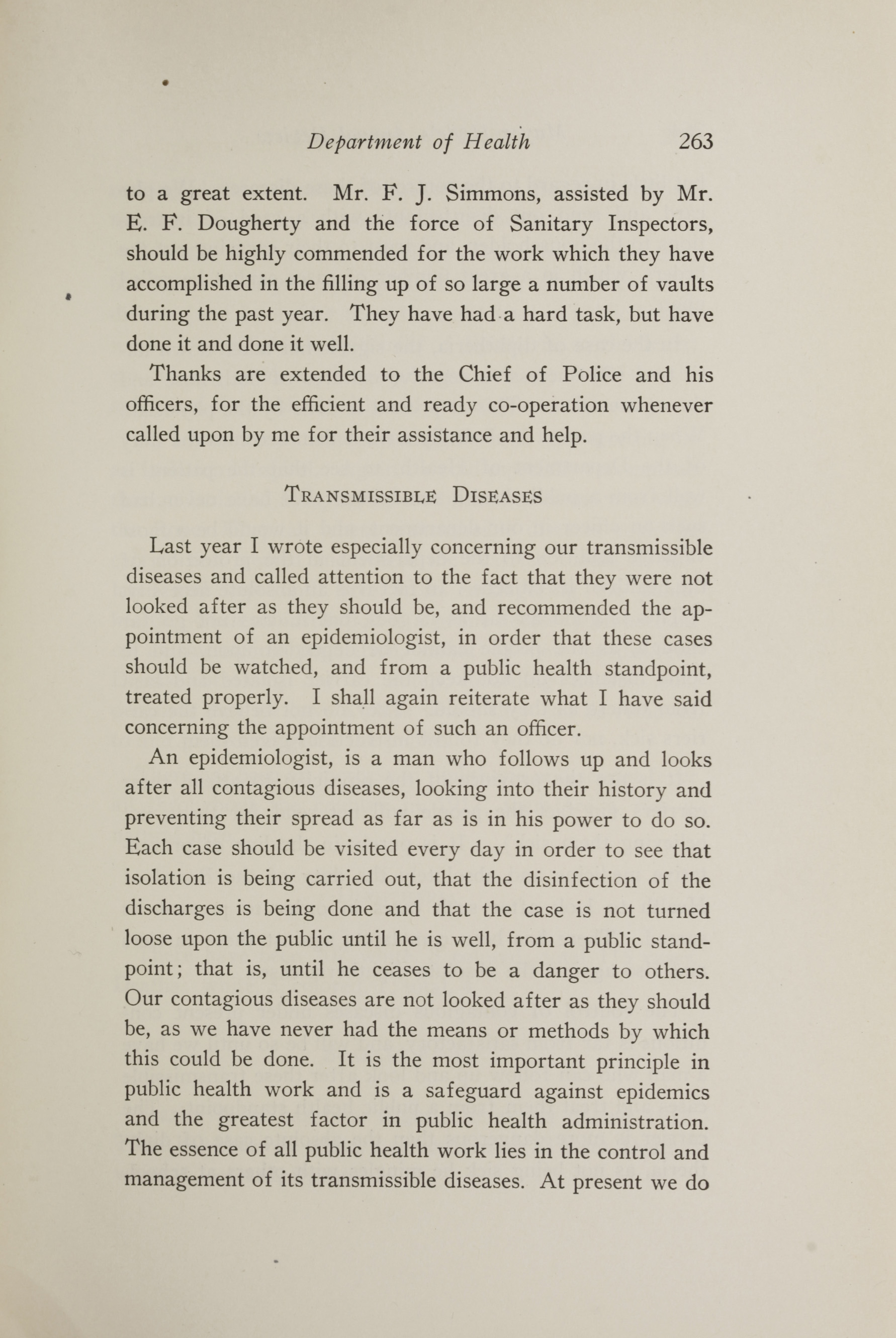 Charleston Yearbook, 1917, page 263