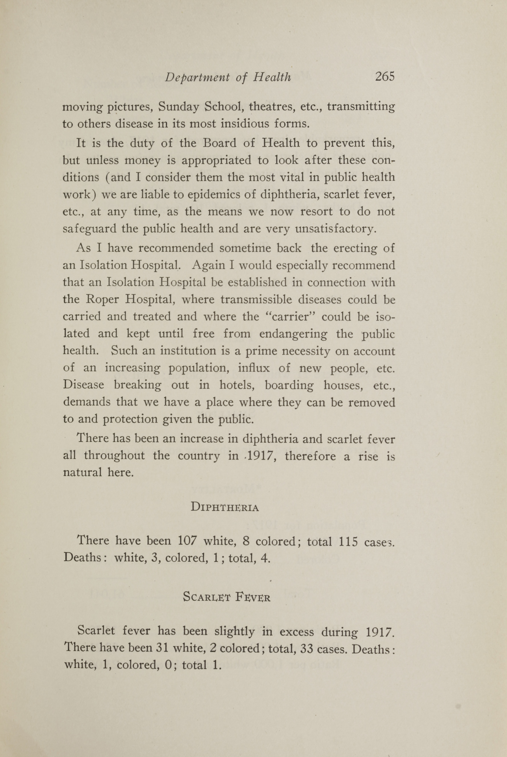 Charleston Yearbook, 1917, page 265