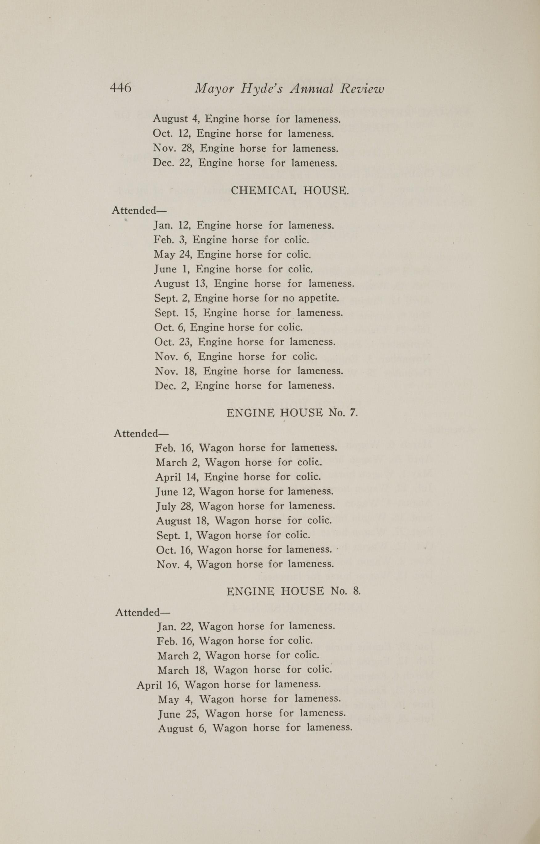 Charleston Yearbook, 1917, page 446