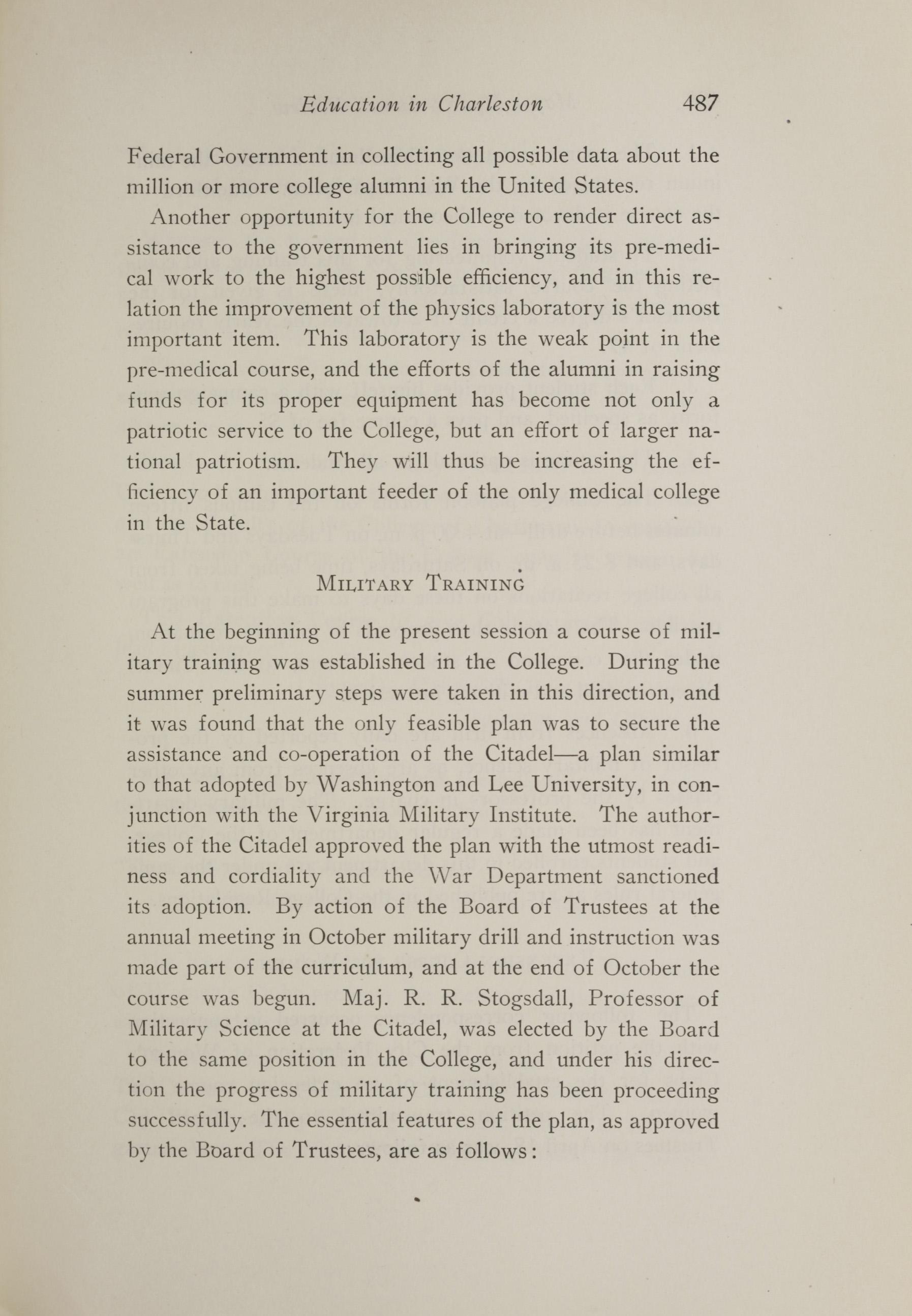 Charleston Yearbook, 1917, page 487