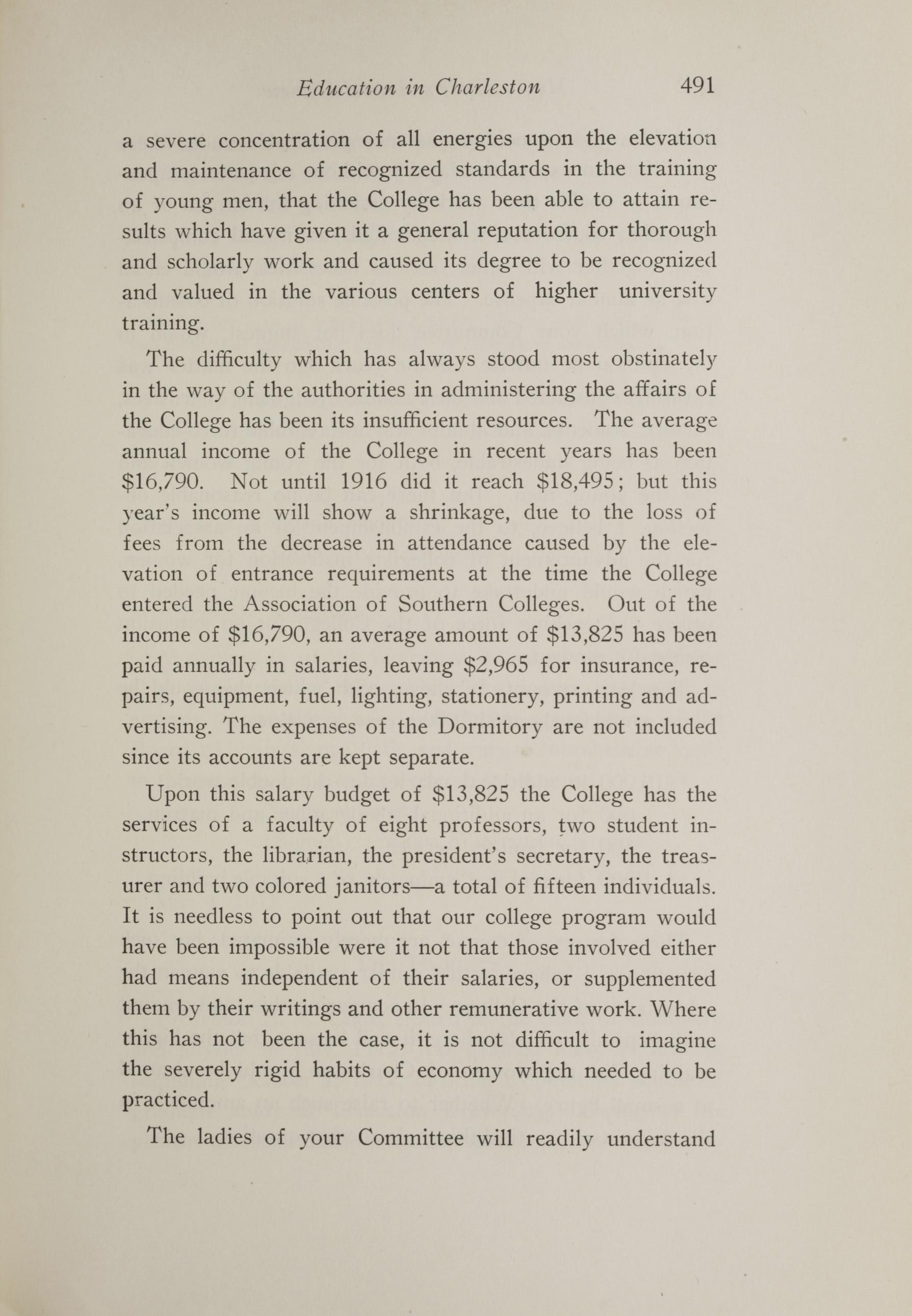 Charleston Yearbook, 1917, page 491
