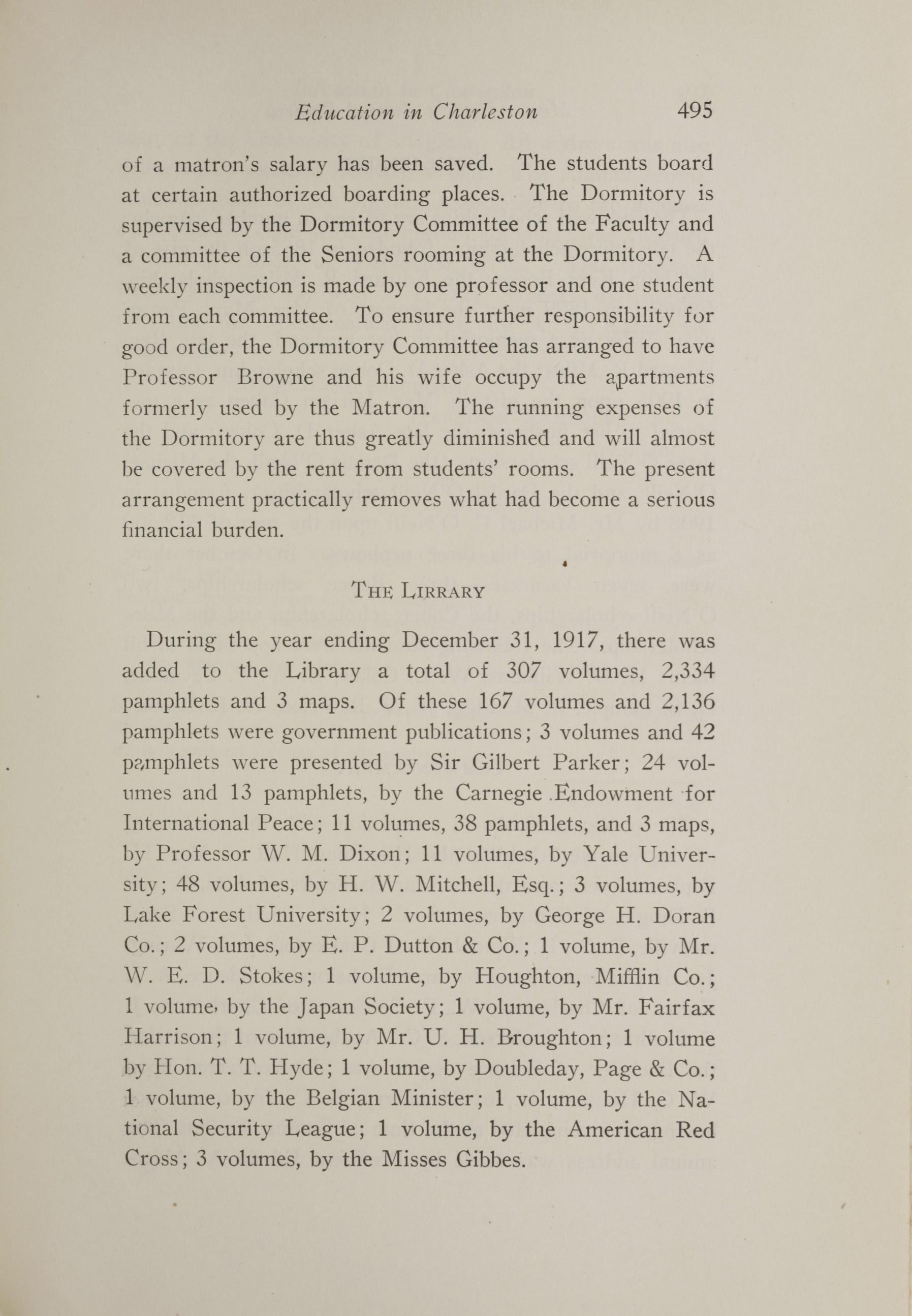 Charleston Yearbook, 1917, page 495