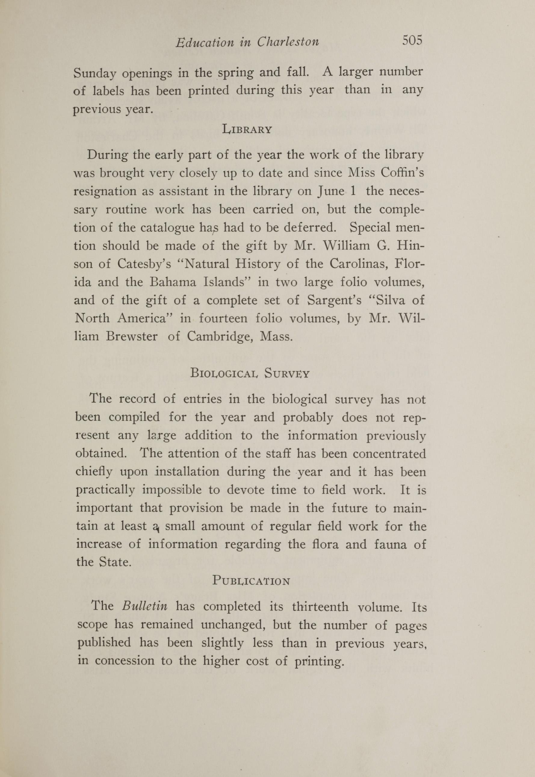 Charleston Yearbook, 1917, page 505