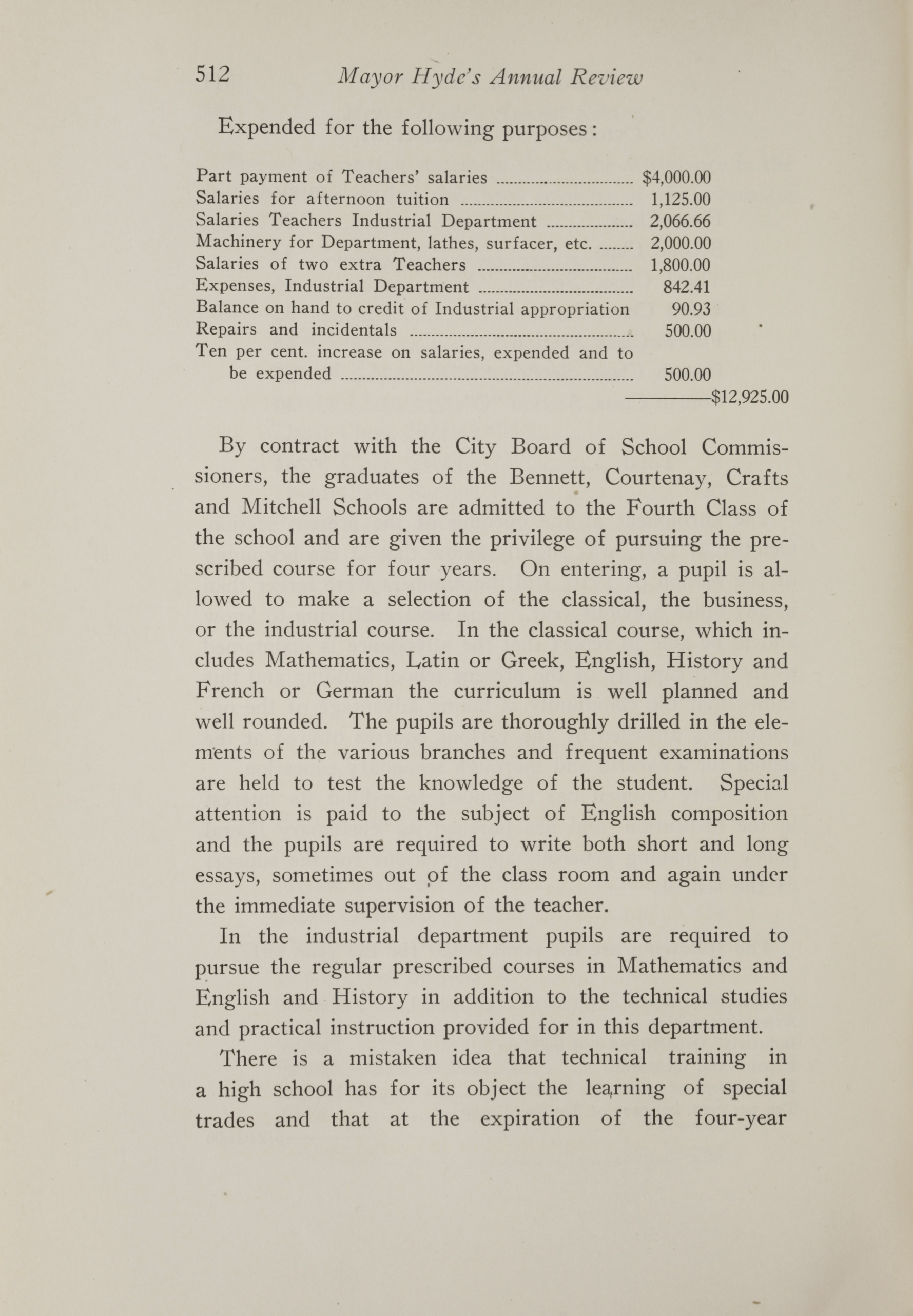 Charleston Yearbook, 1917, page 512