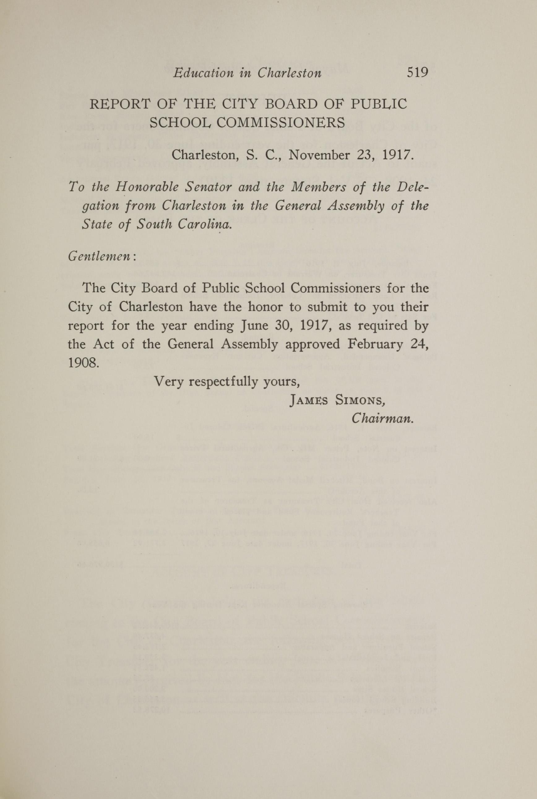Charleston Yearbook, 1917, page 519