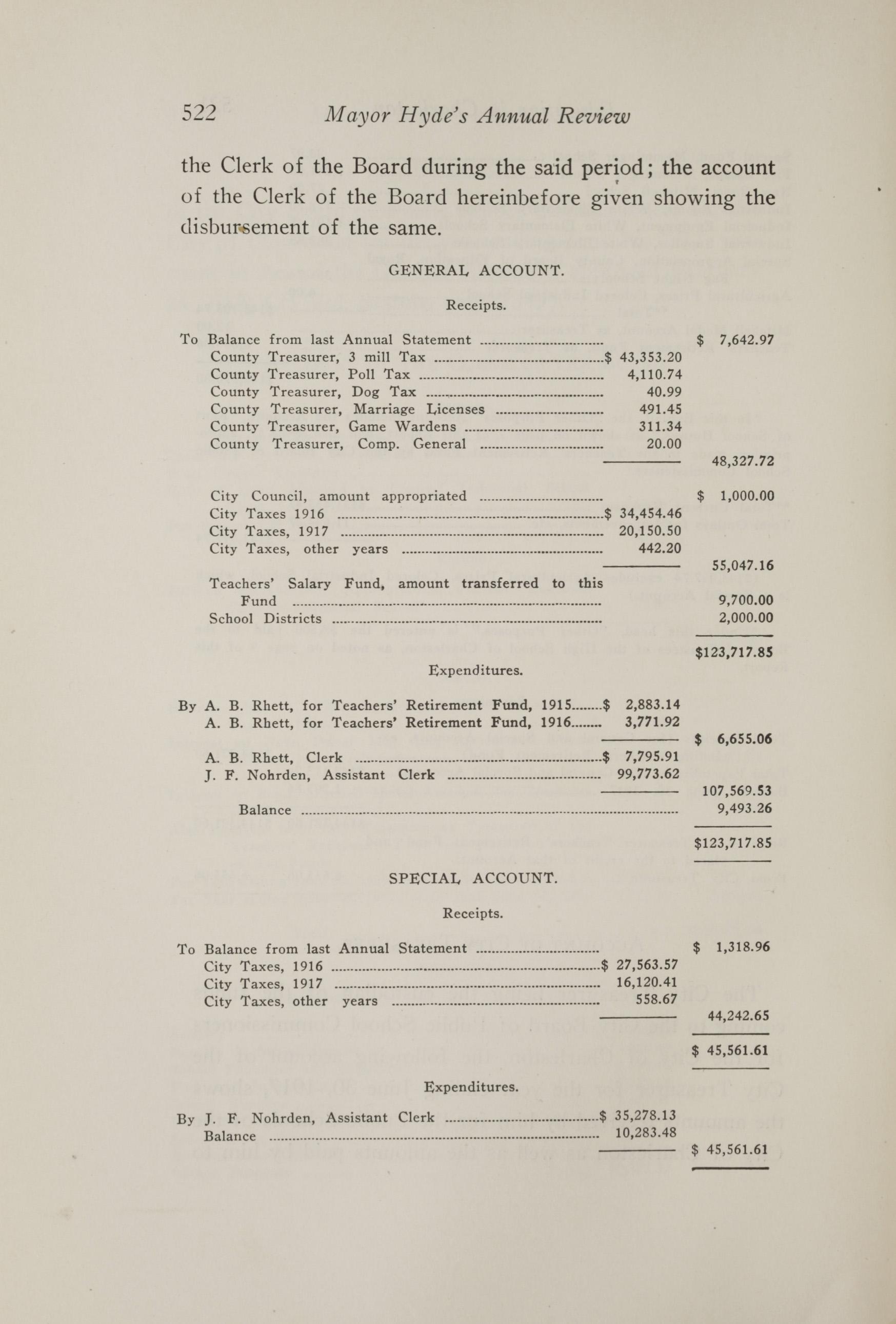 Charleston Yearbook, 1917, page 522
