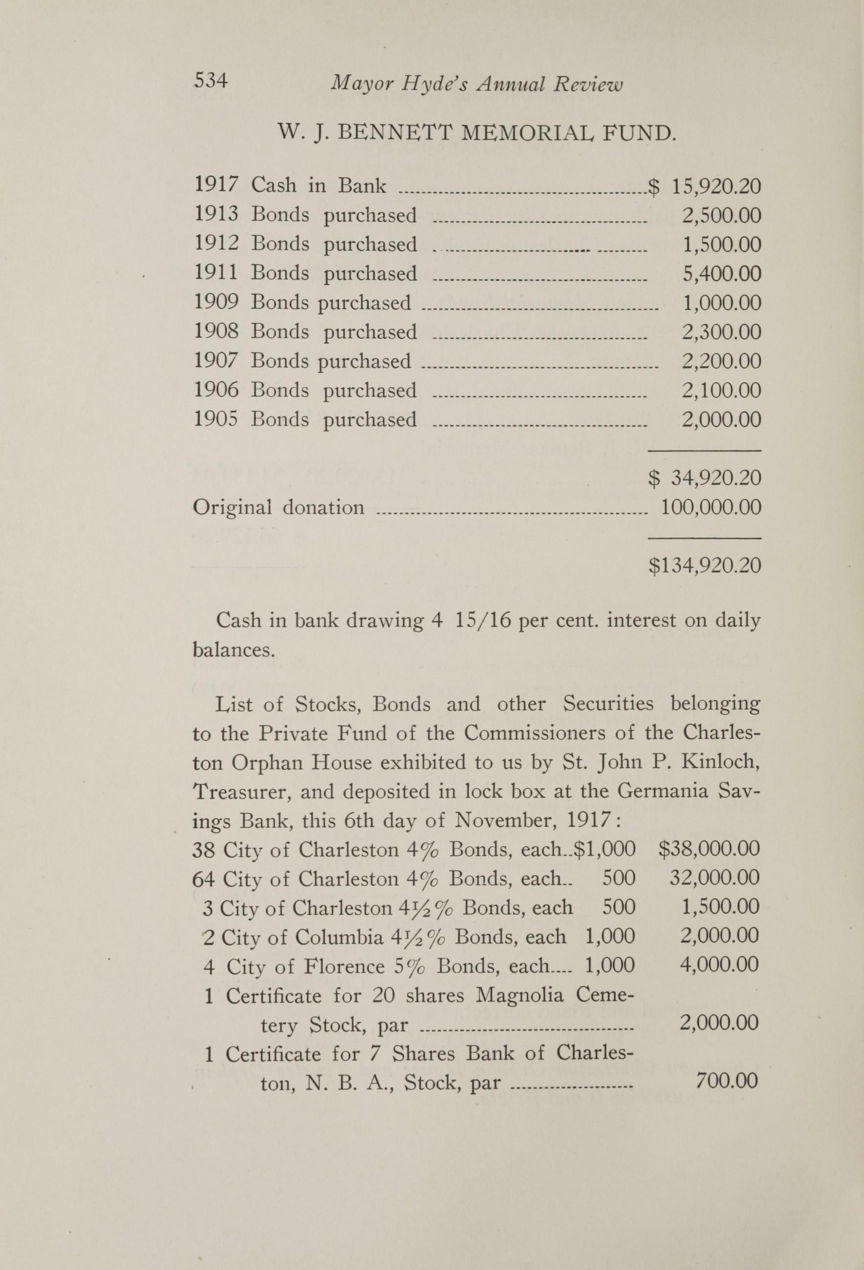 Charleston Yearbook, 1917, page 534