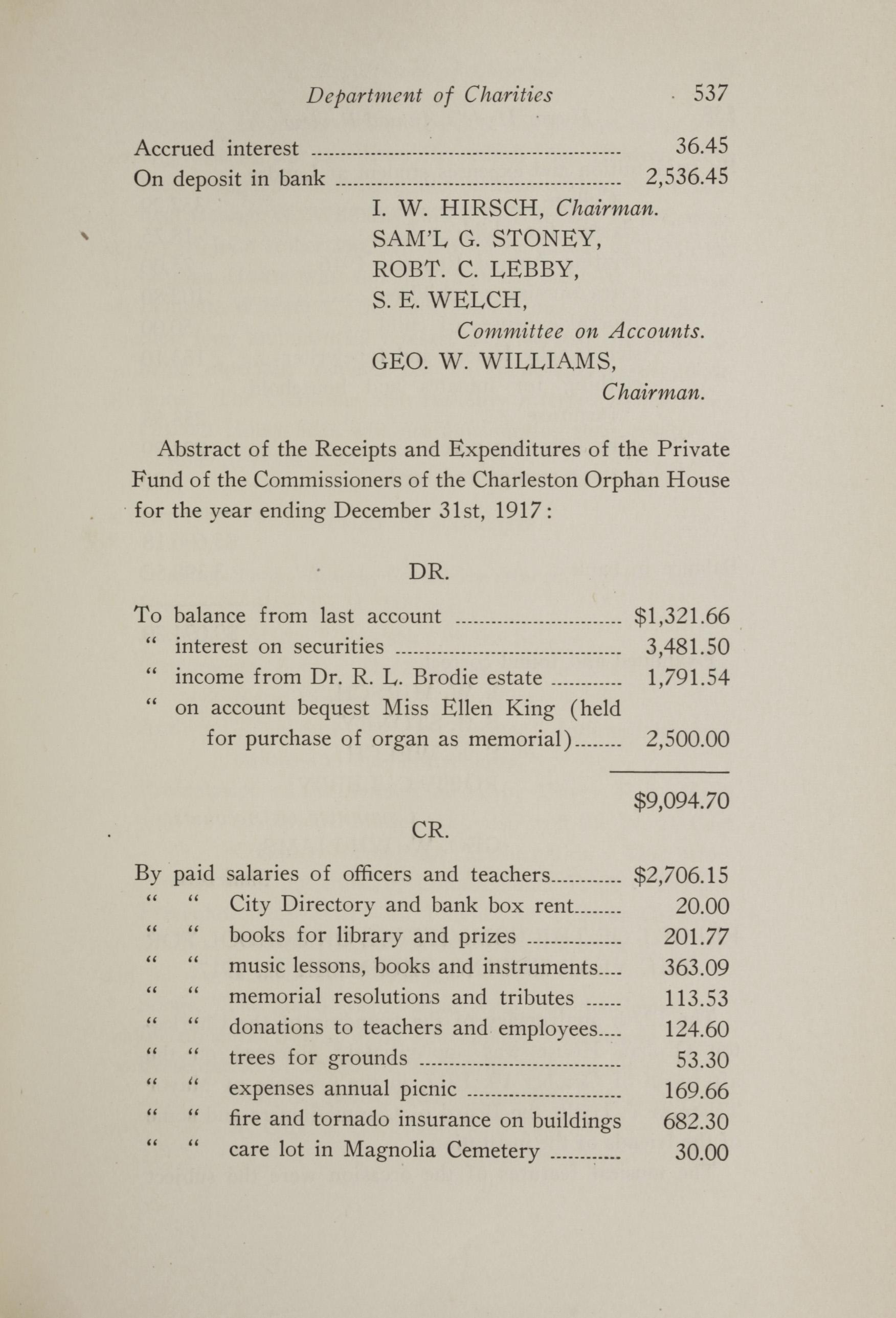Charleston Yearbook, 1917, page 537
