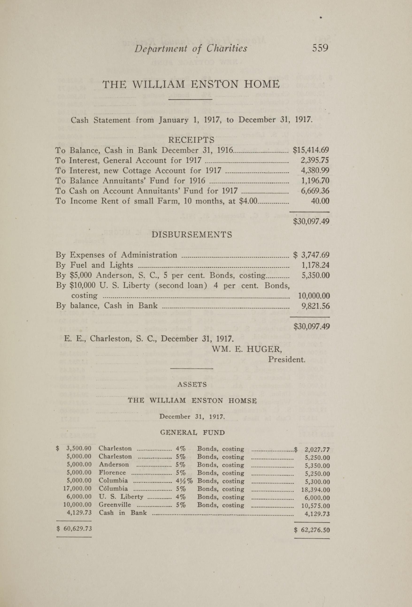Charleston Yearbook, 1917, page 559