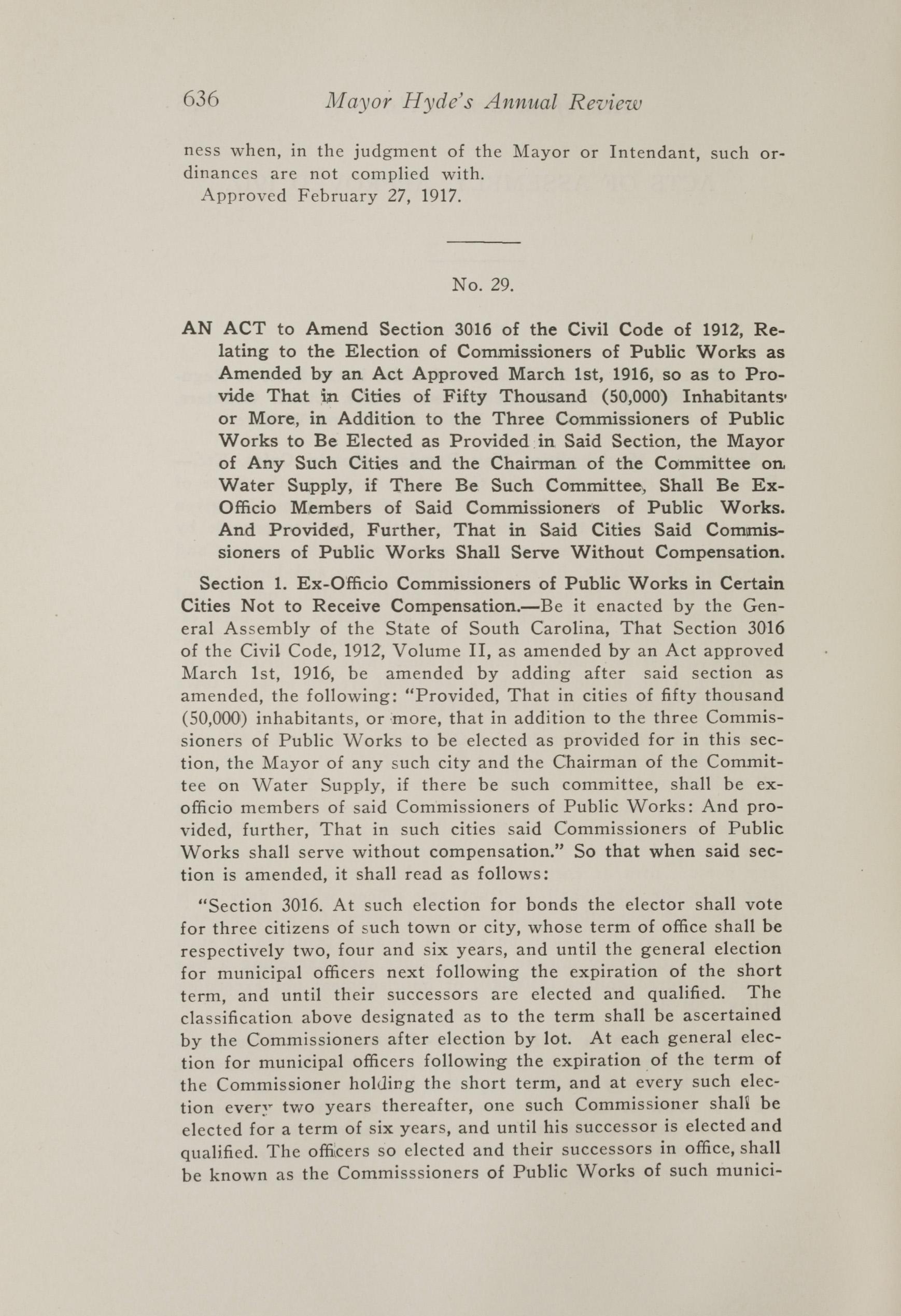 Charleston Yearbook, 1917, page 636