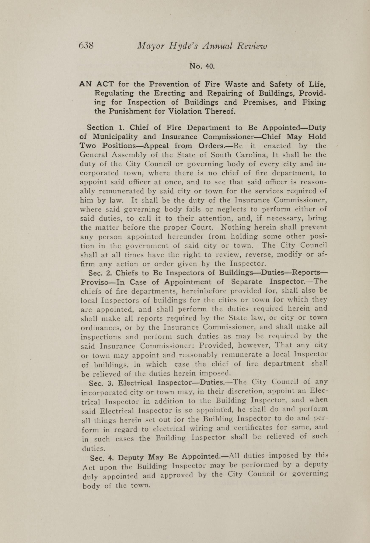 Charleston Yearbook, 1917, page 638