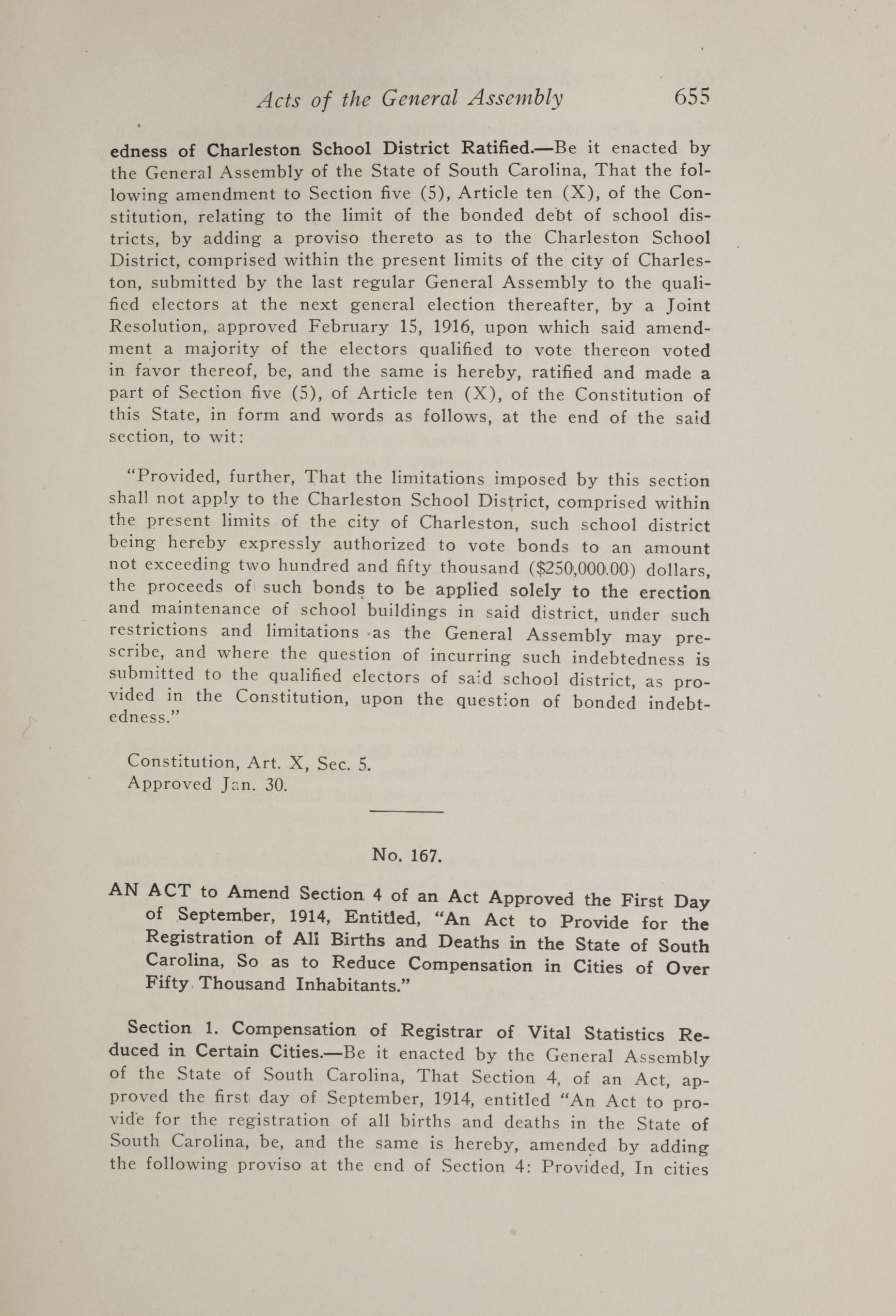 Charleston Yearbook, 1917, page 655