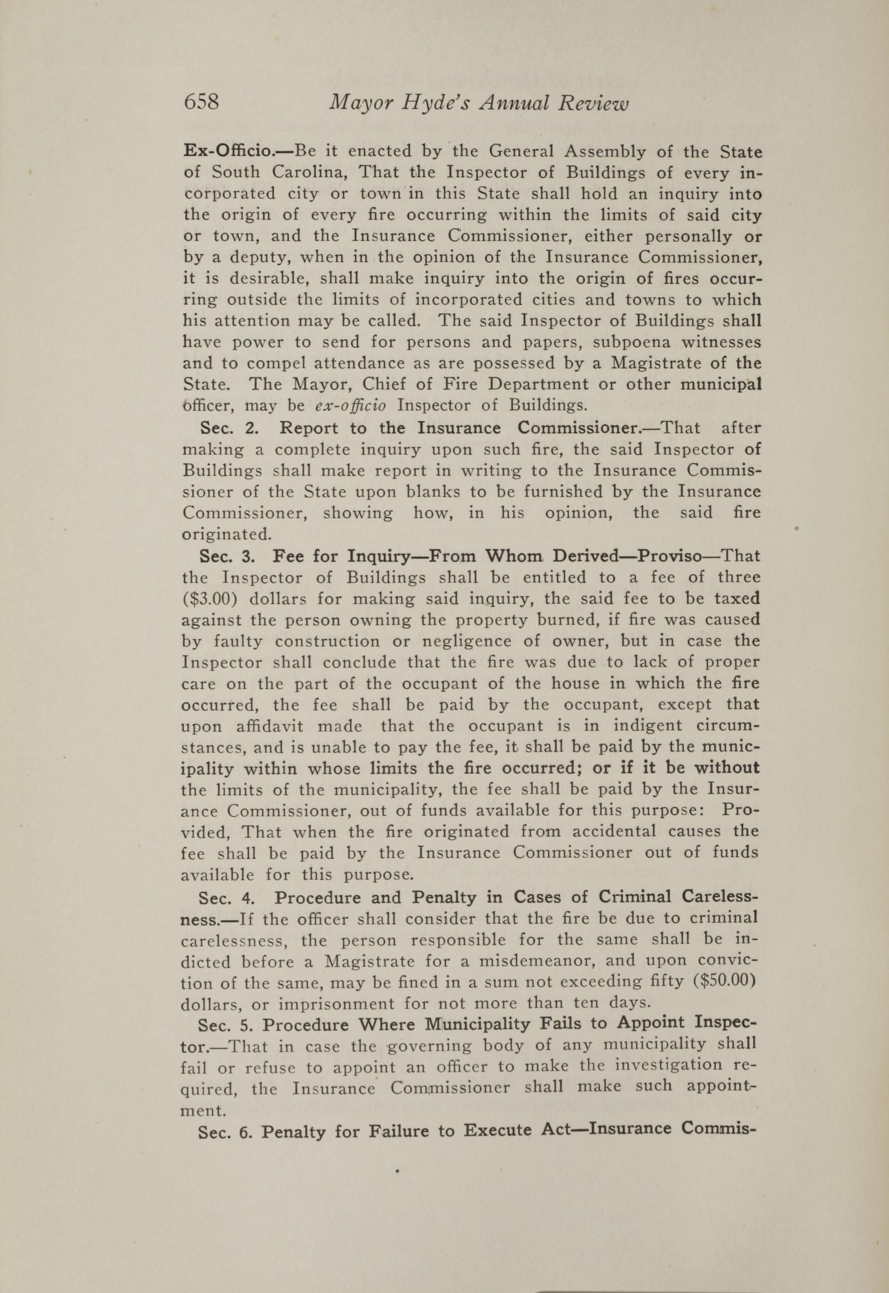 Charleston Yearbook, 1917, page 658