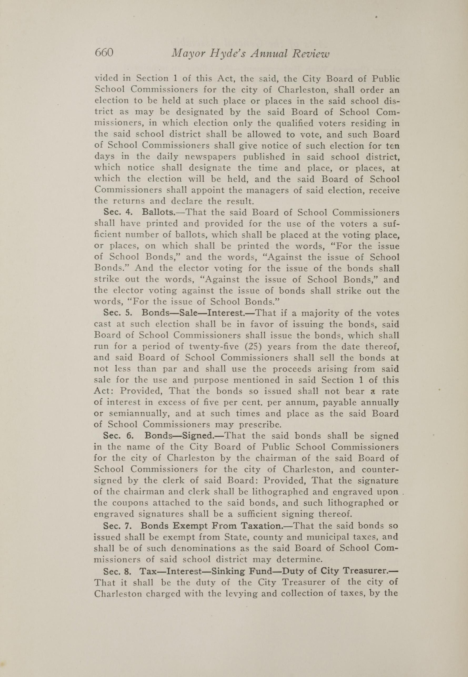 Charleston Yearbook, 1917, page 660